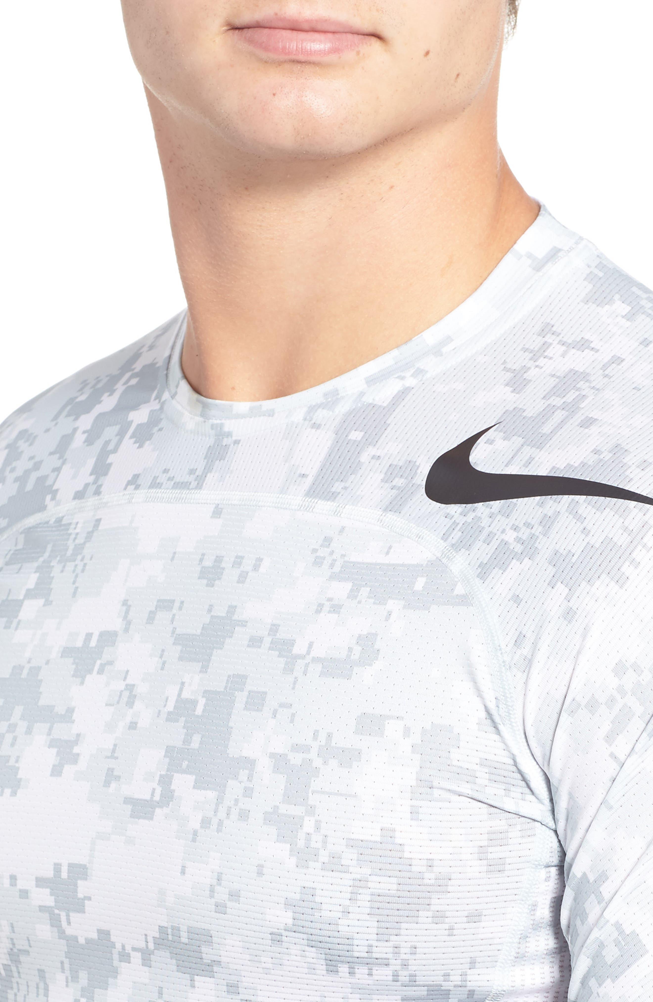 Pro Hypercool Seamless T-Shirt,                             Alternate thumbnail 4, color,                             100