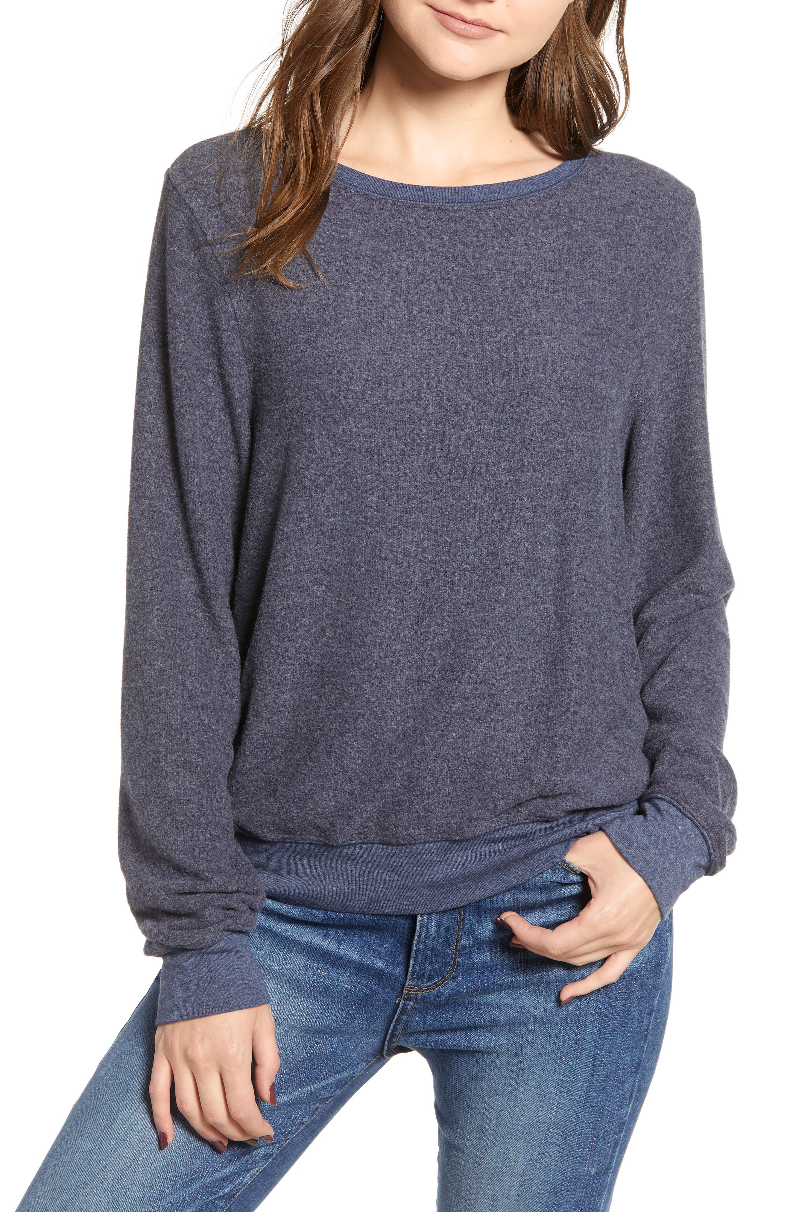 Baggy Beach Jumper Pullover,                         Main,                         color, OXFORD