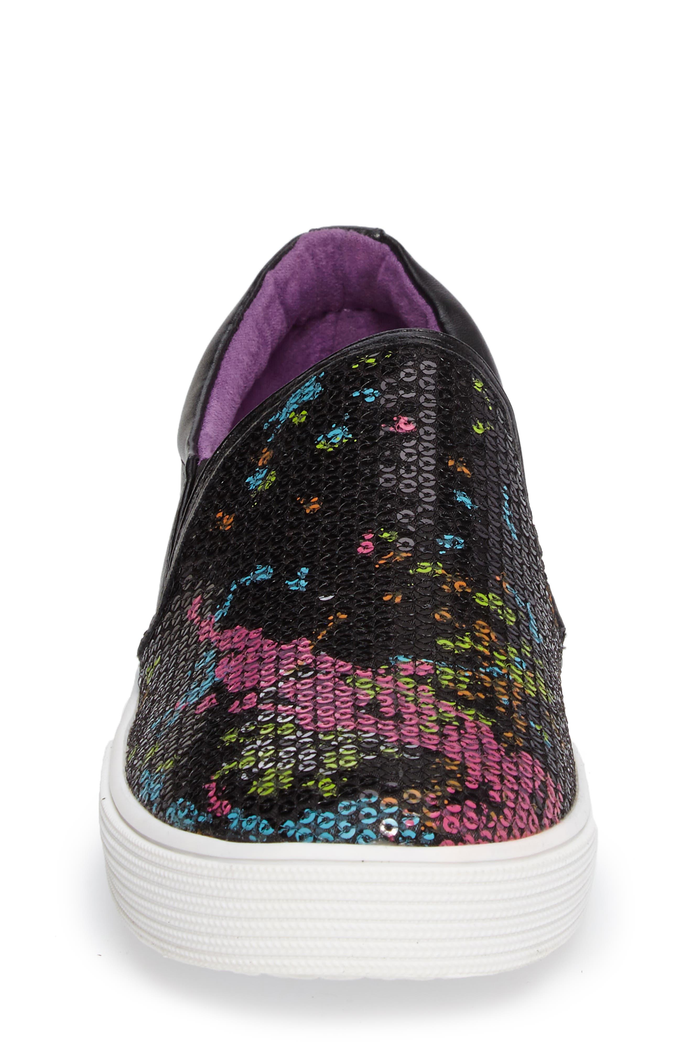 Kam Paint Slip-On Sneaker,                             Alternate thumbnail 4, color,                             001