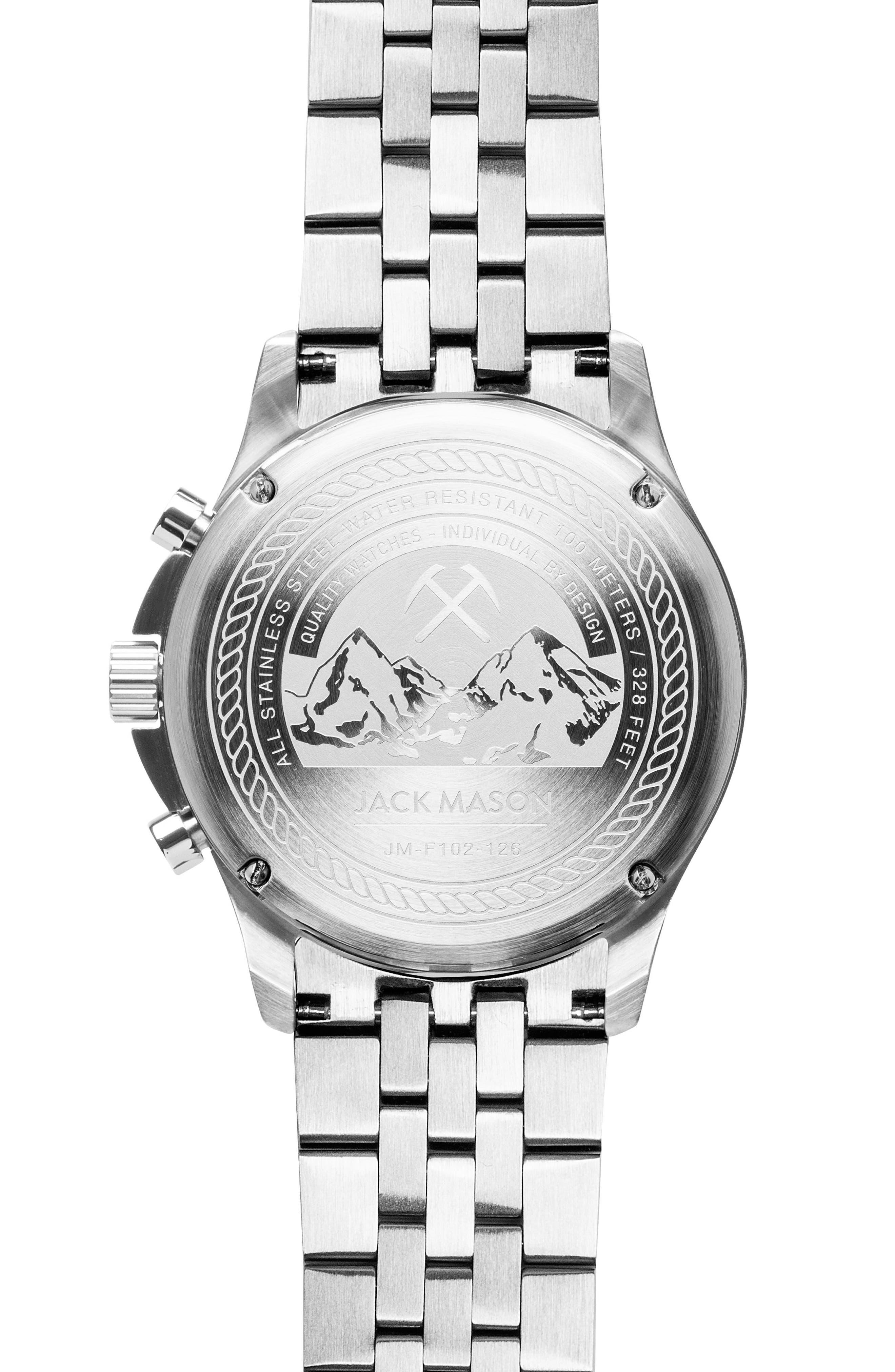 Field Chronograph Bracelet Watch, 42mm,                             Alternate thumbnail 2, color,                             040