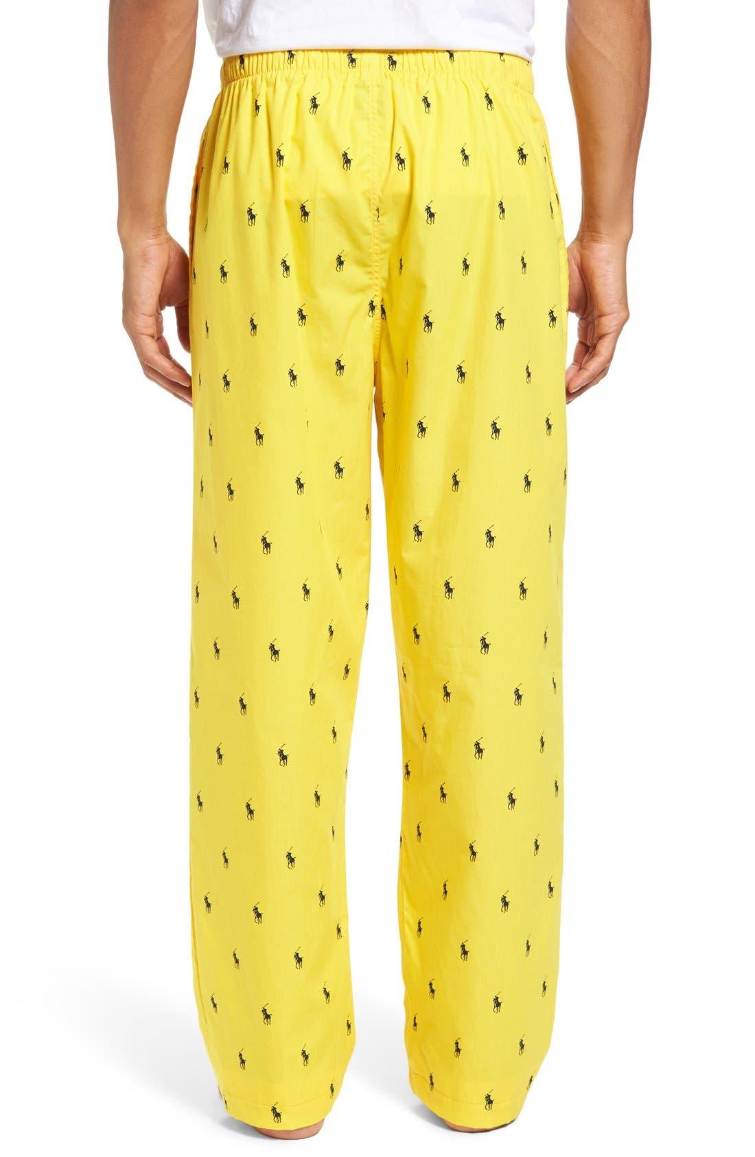 Cotton Lounge Pants,                             Alternate thumbnail 27, color,