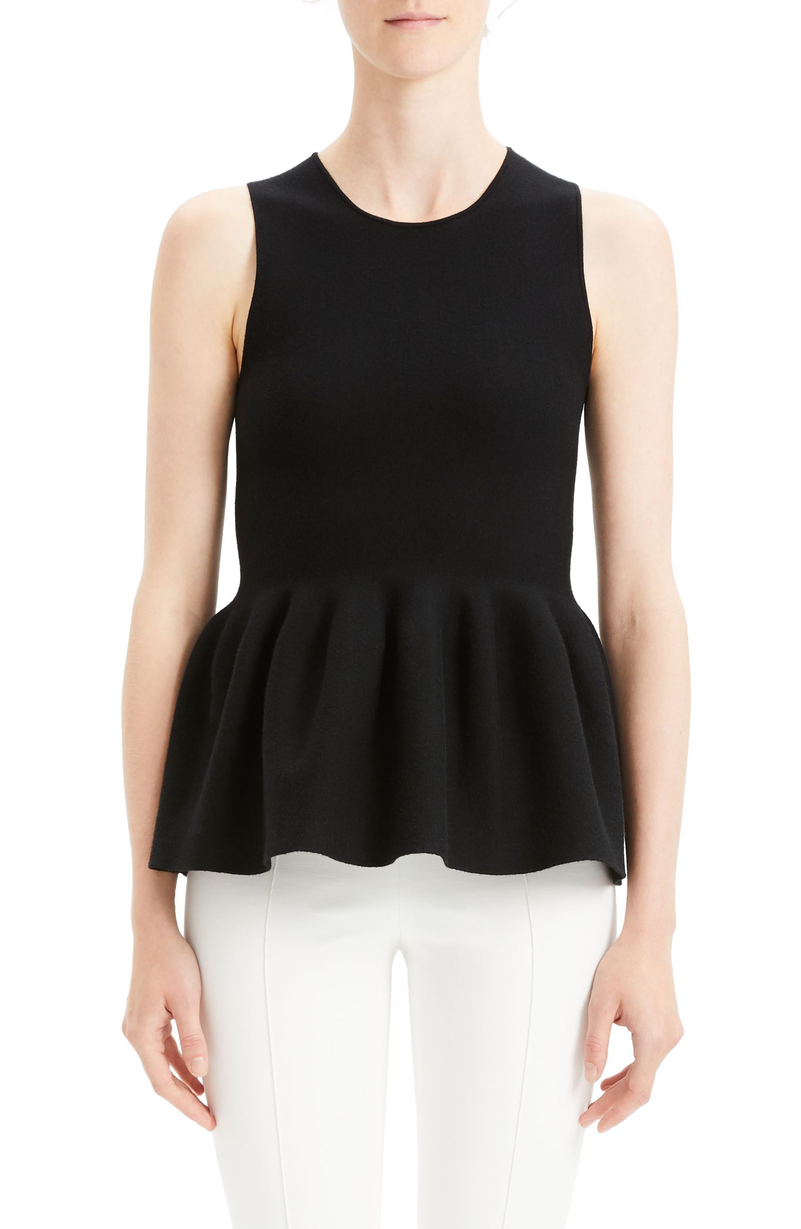 Shaped Shell, Main, color, BLACK