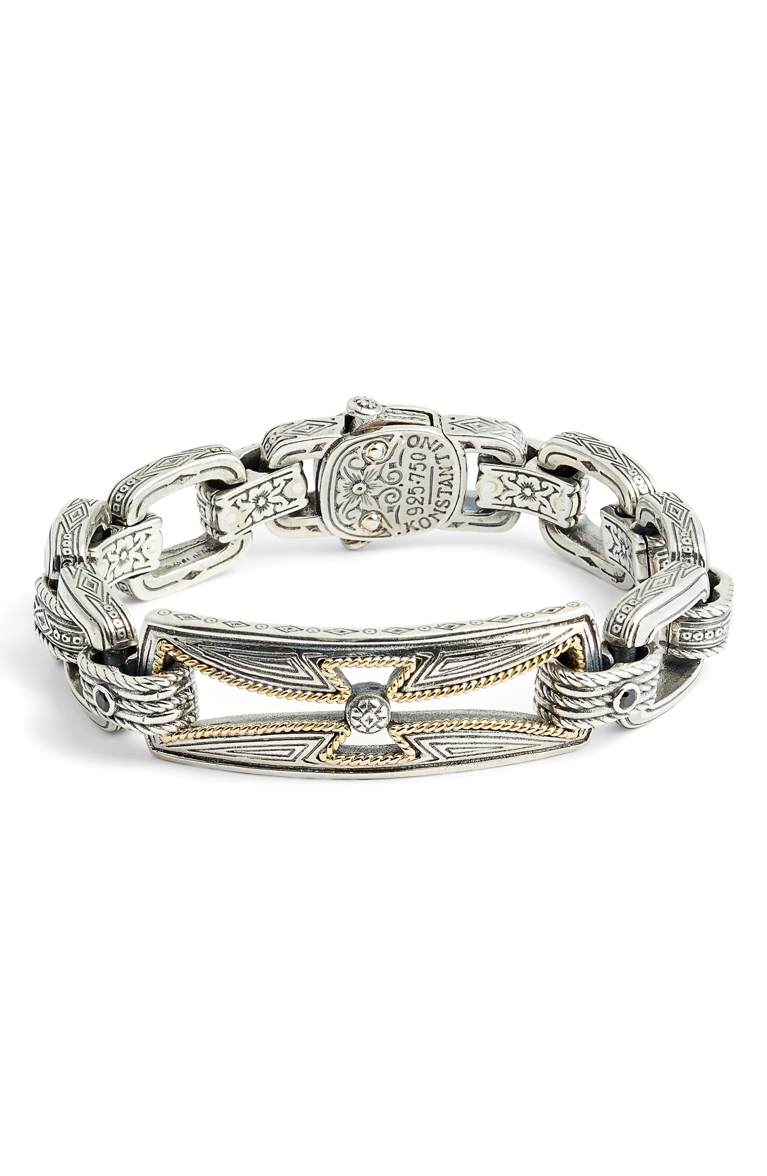 Stavros Spinel Chain Bracelet,                         Main,                         color, 040