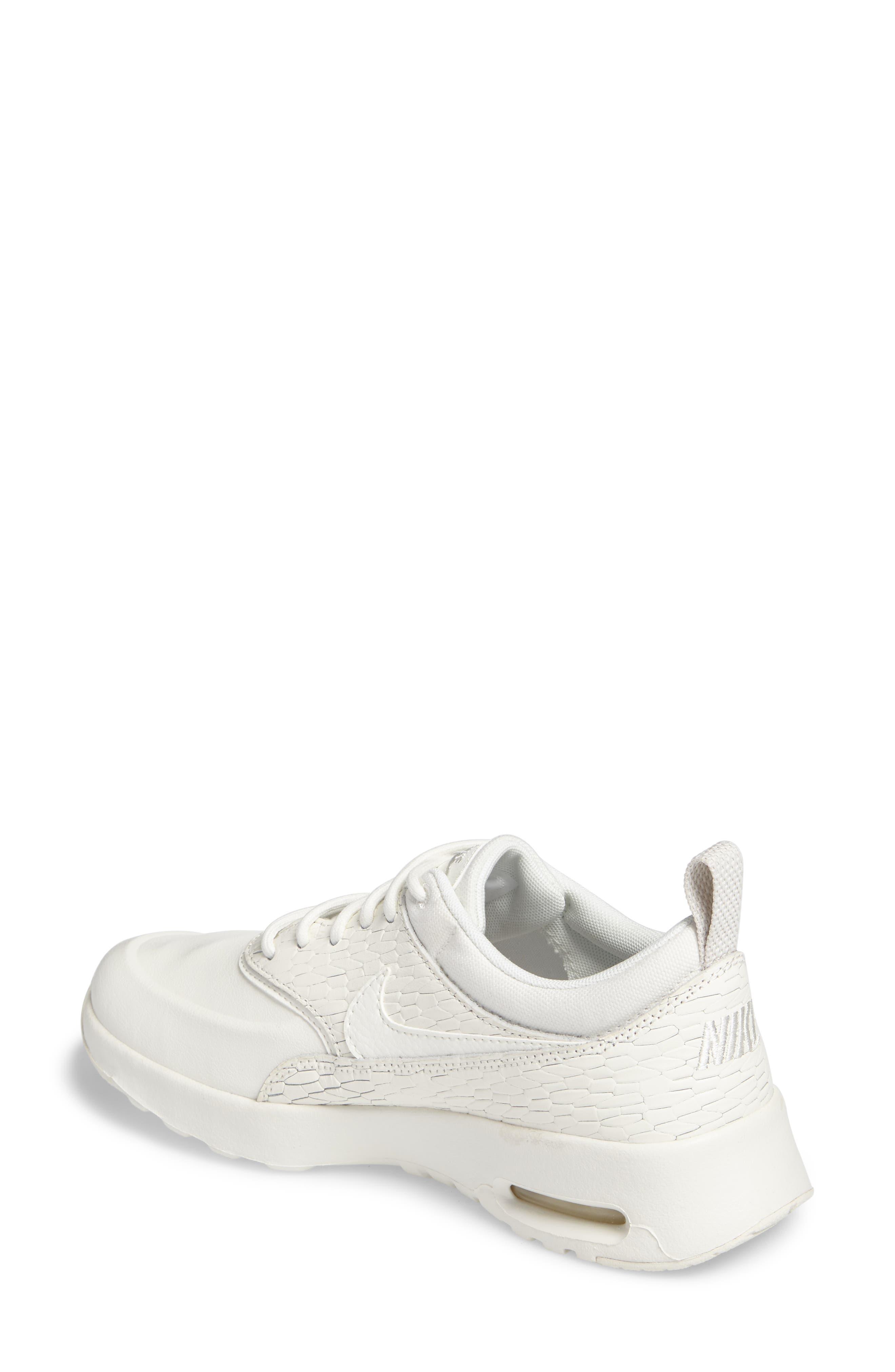 Air Max Thea Premium Sneaker,                             Alternate thumbnail 6, color,