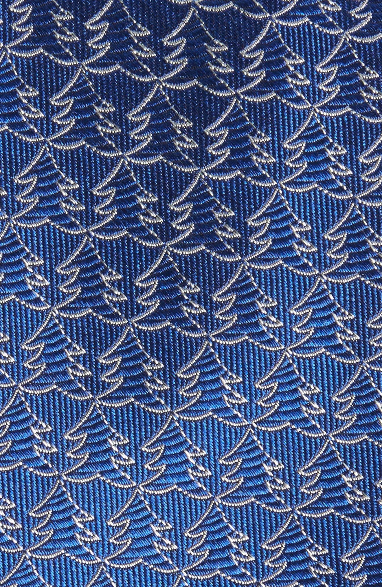 Christmas Tree Silk Tie,                             Alternate thumbnail 5, color,
