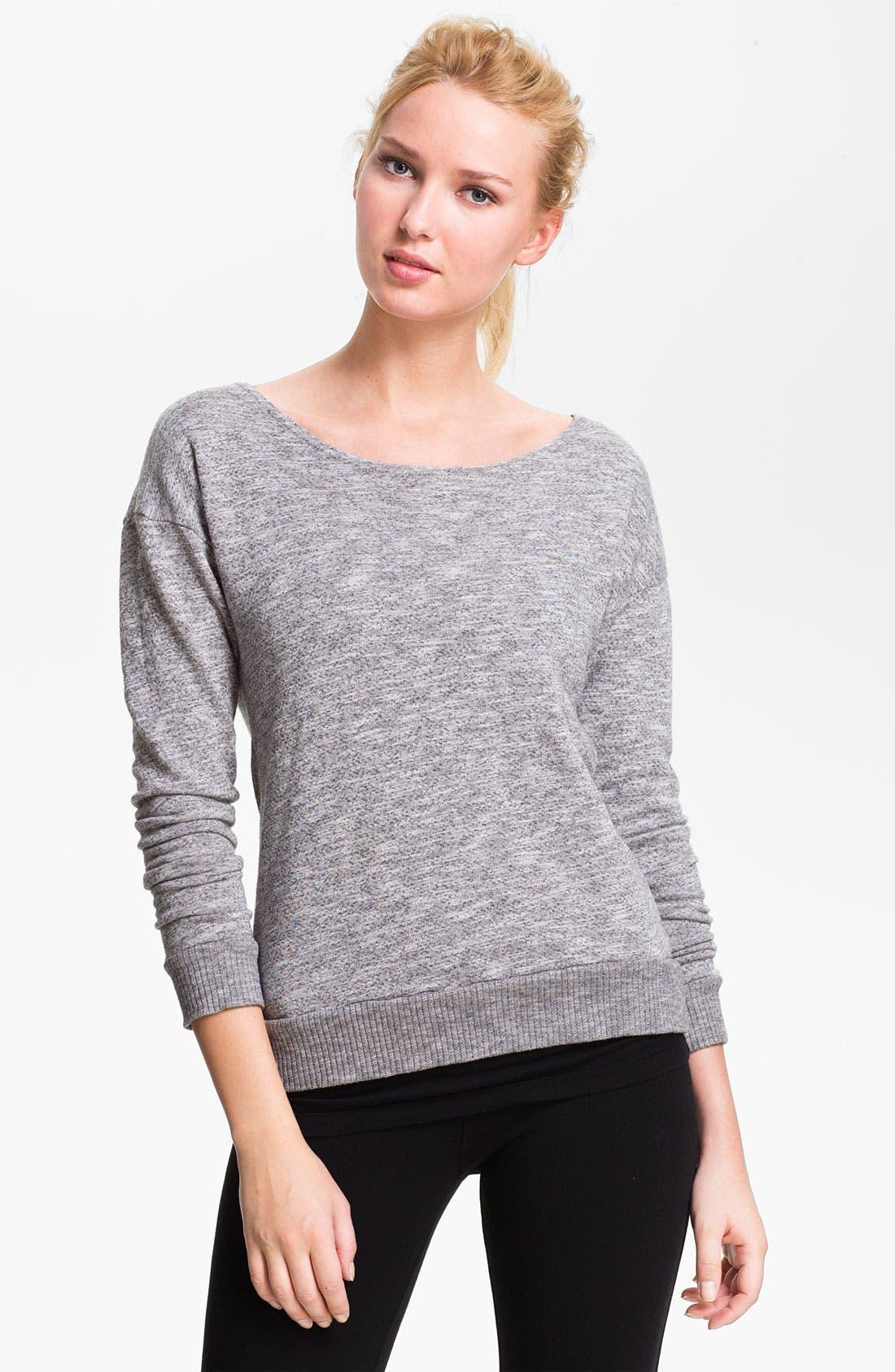 Slouchy Back Sweatshirt,                             Alternate thumbnail 3, color,                             039