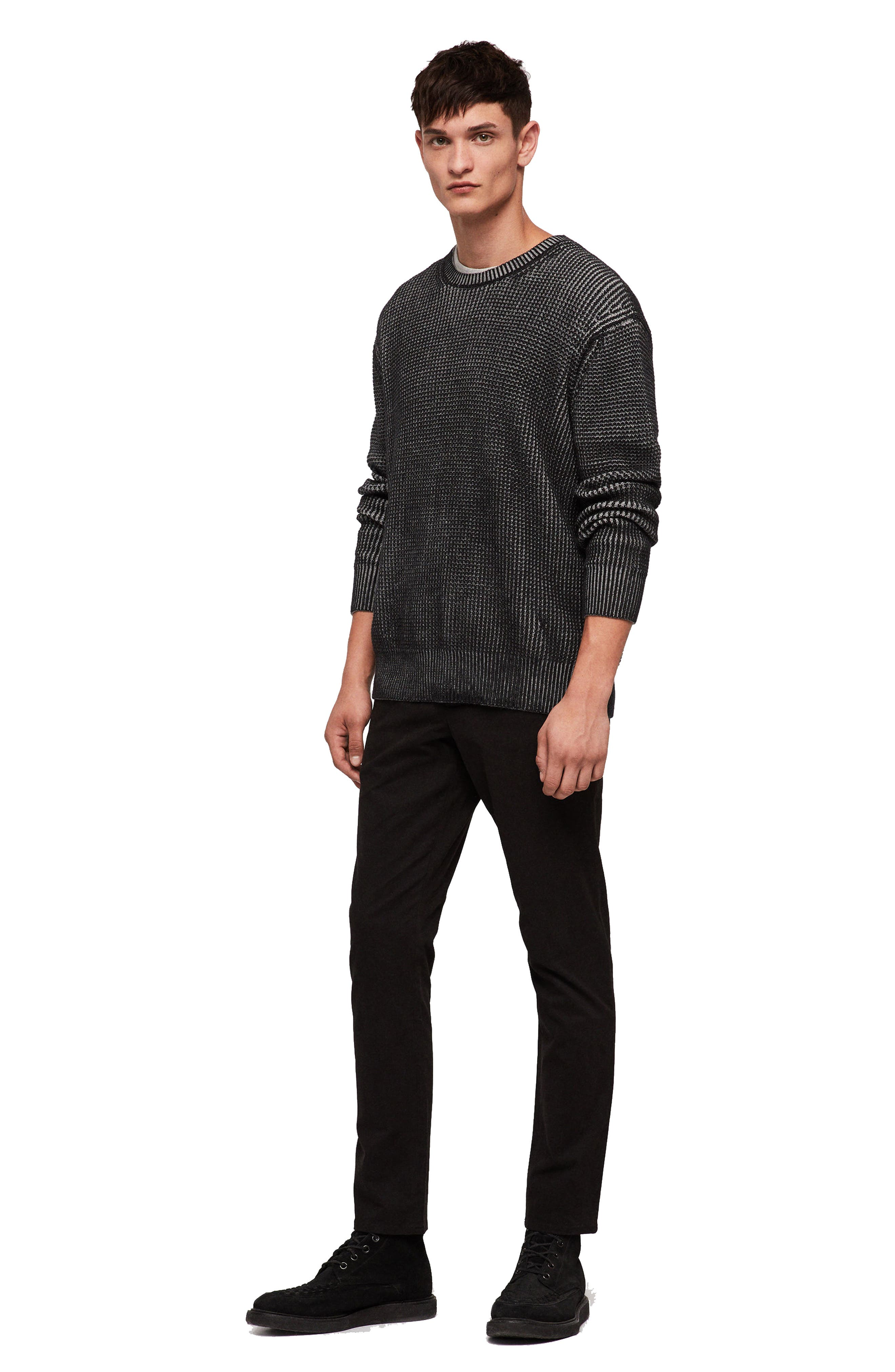 Quarter Crewneck Sweater,                             Alternate thumbnail 4, color,                             020