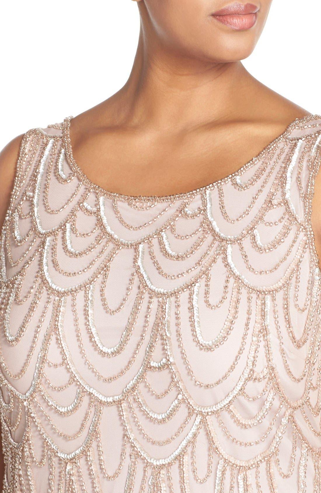 Beaded Sheath Dress,                             Alternate thumbnail 54, color,
