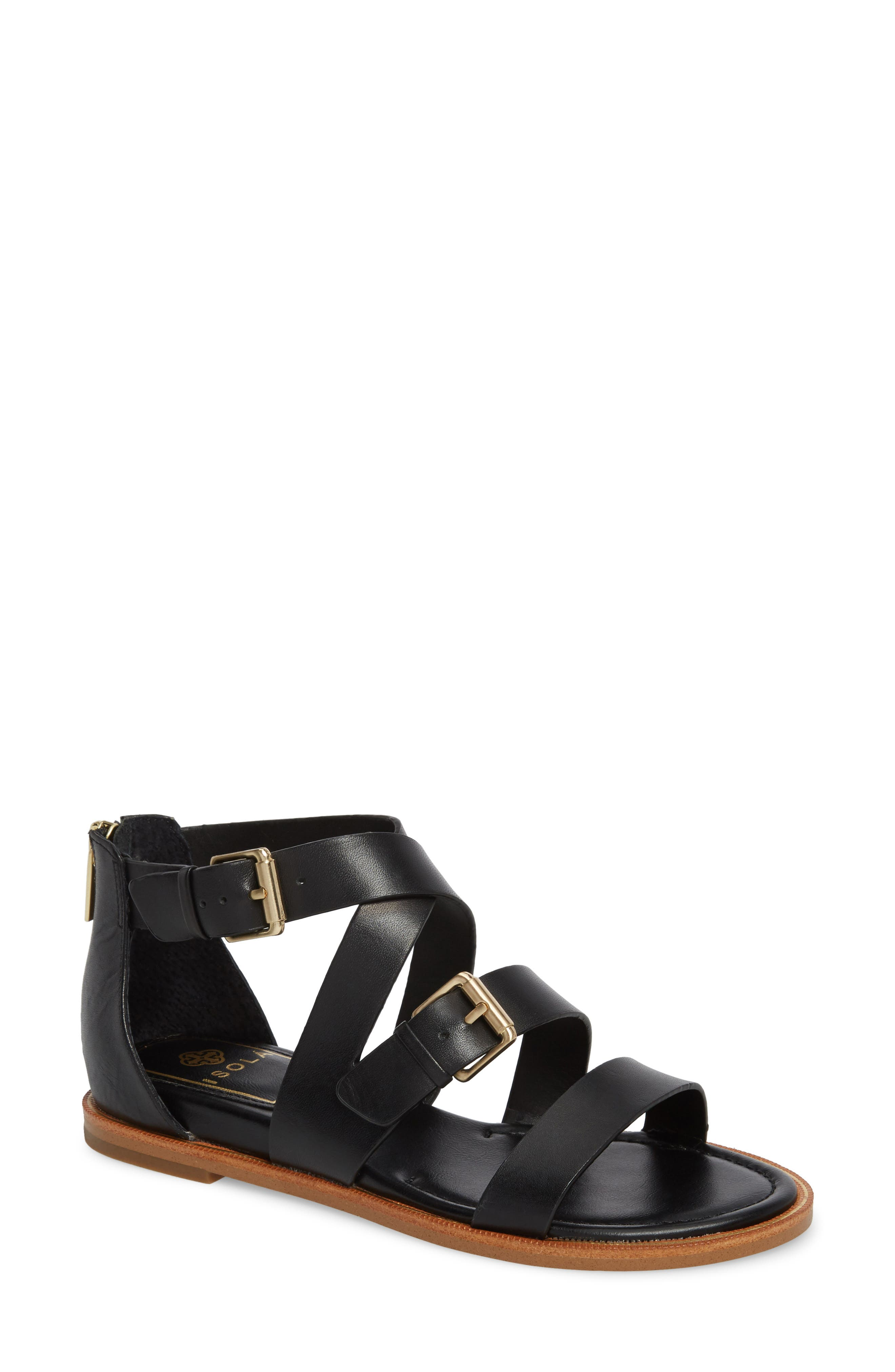 Isola Sharni Sandal,                             Main thumbnail 1, color,                             001