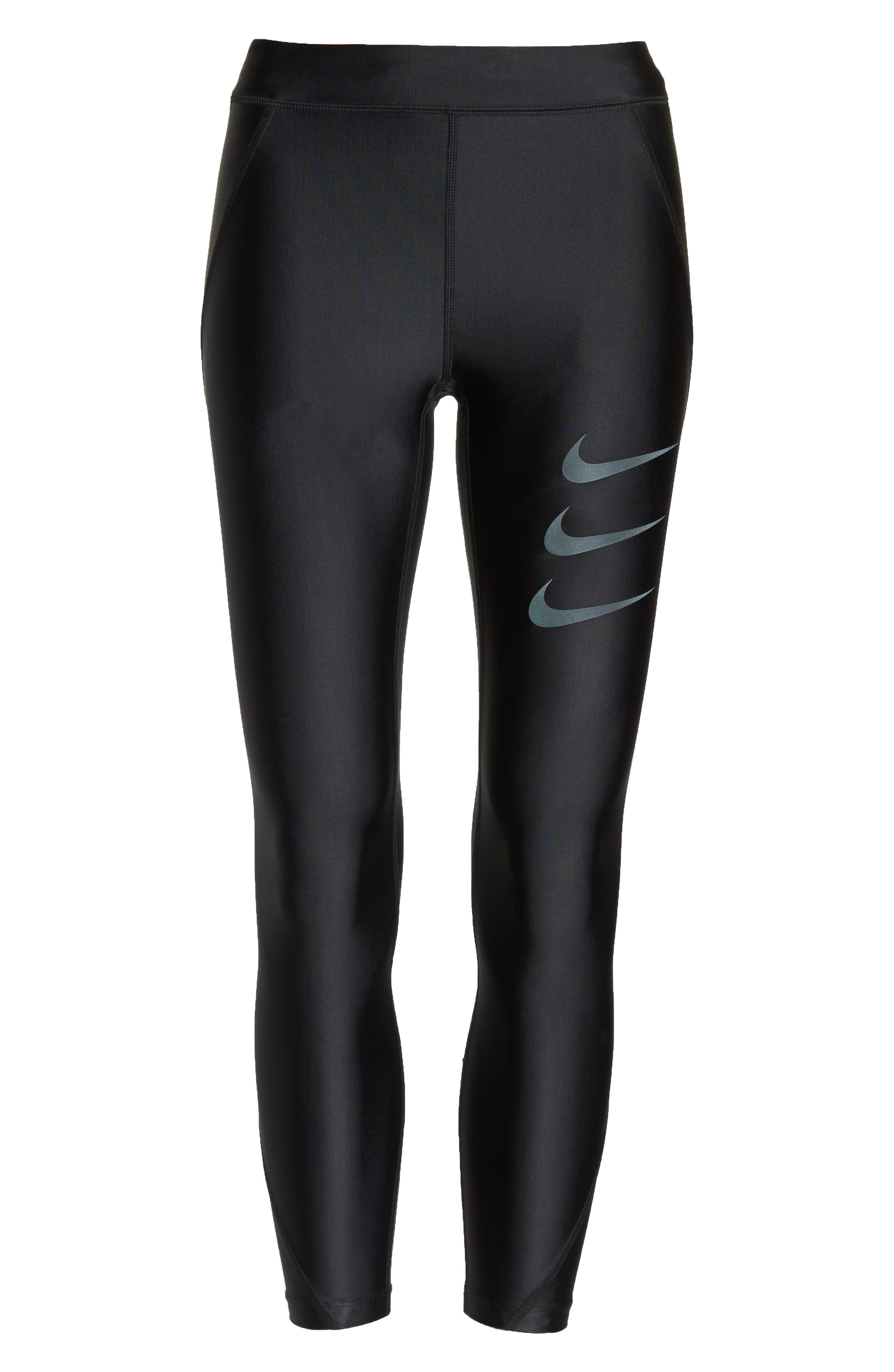 Speed Women's Running Tights,                             Main thumbnail 1, color,                             010