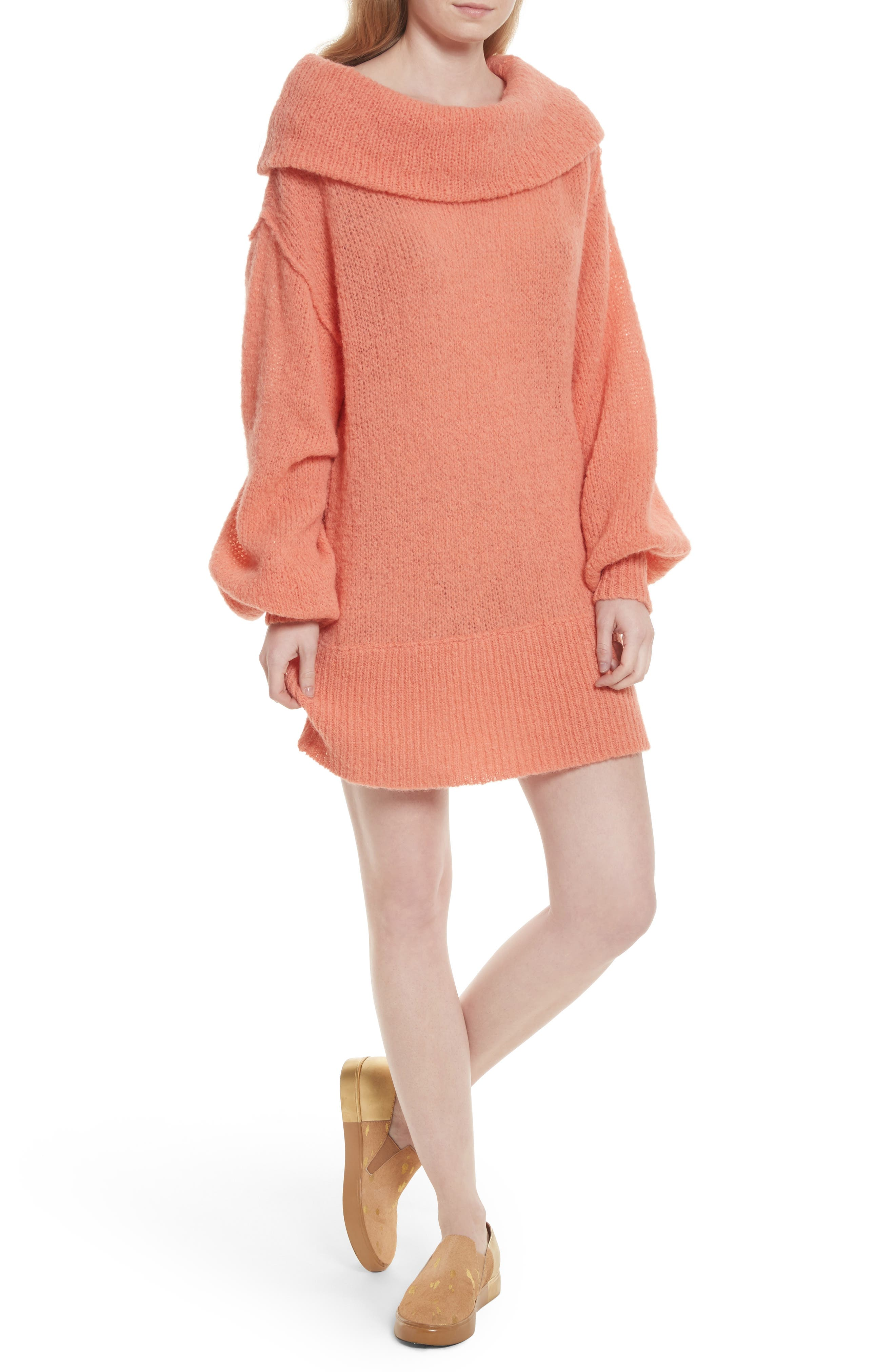 Ophelia Off the Shoulder Sweater,                             Main thumbnail 2, color,