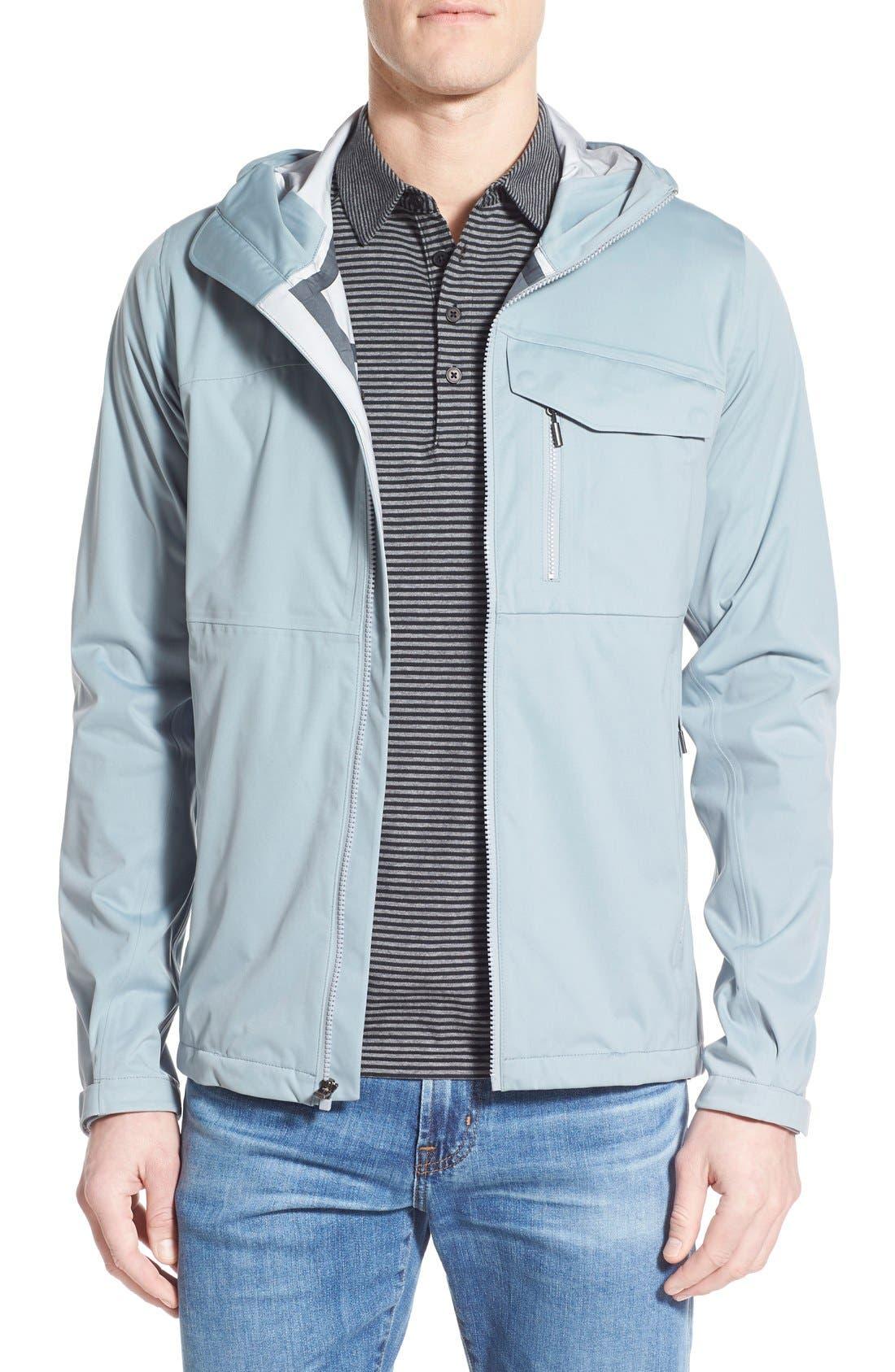 'Rebound' Regular Fit Zip Hooded Jacket,                             Main thumbnail 1, color,                             073