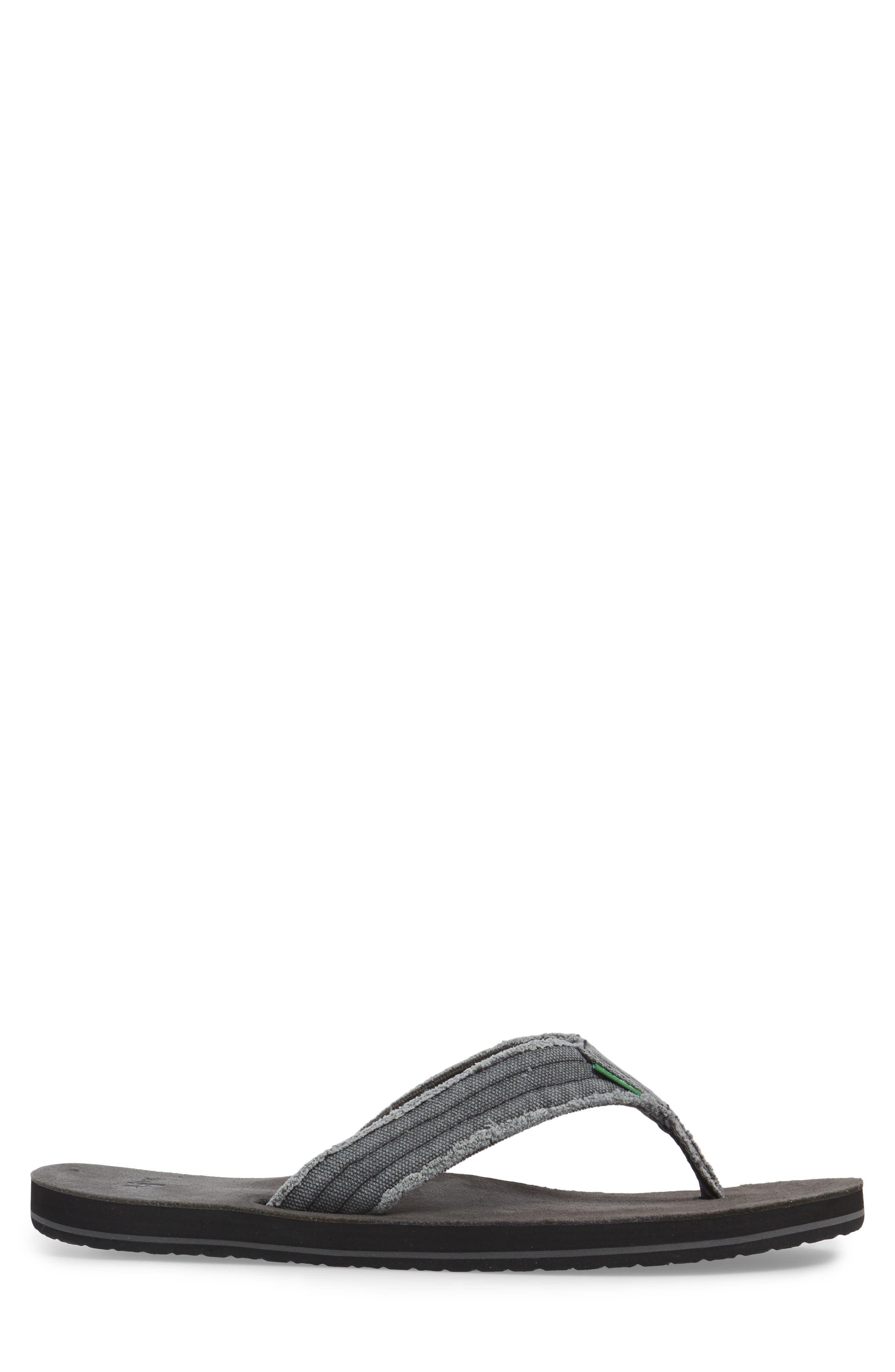 'Fraid Not' Flip Flop,                             Alternate thumbnail 3, color,                             020