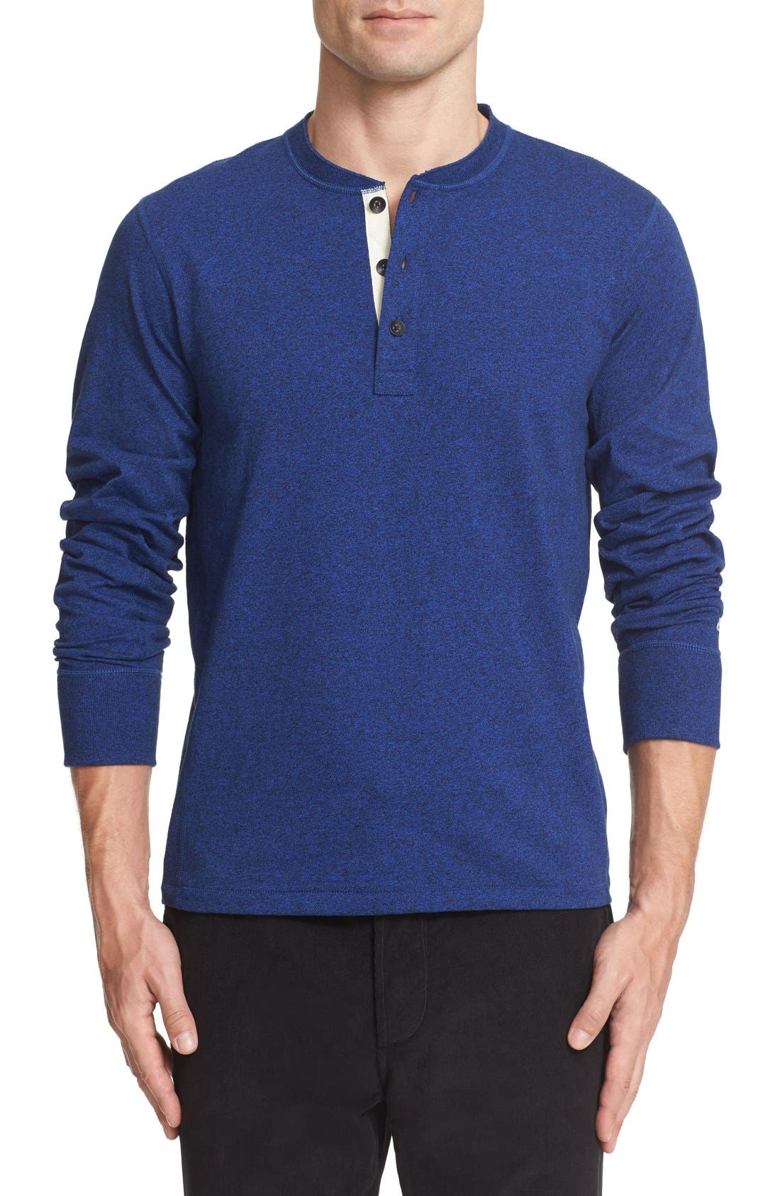 Standard Issue Slub Cotton Henley,                             Main thumbnail 10, color,