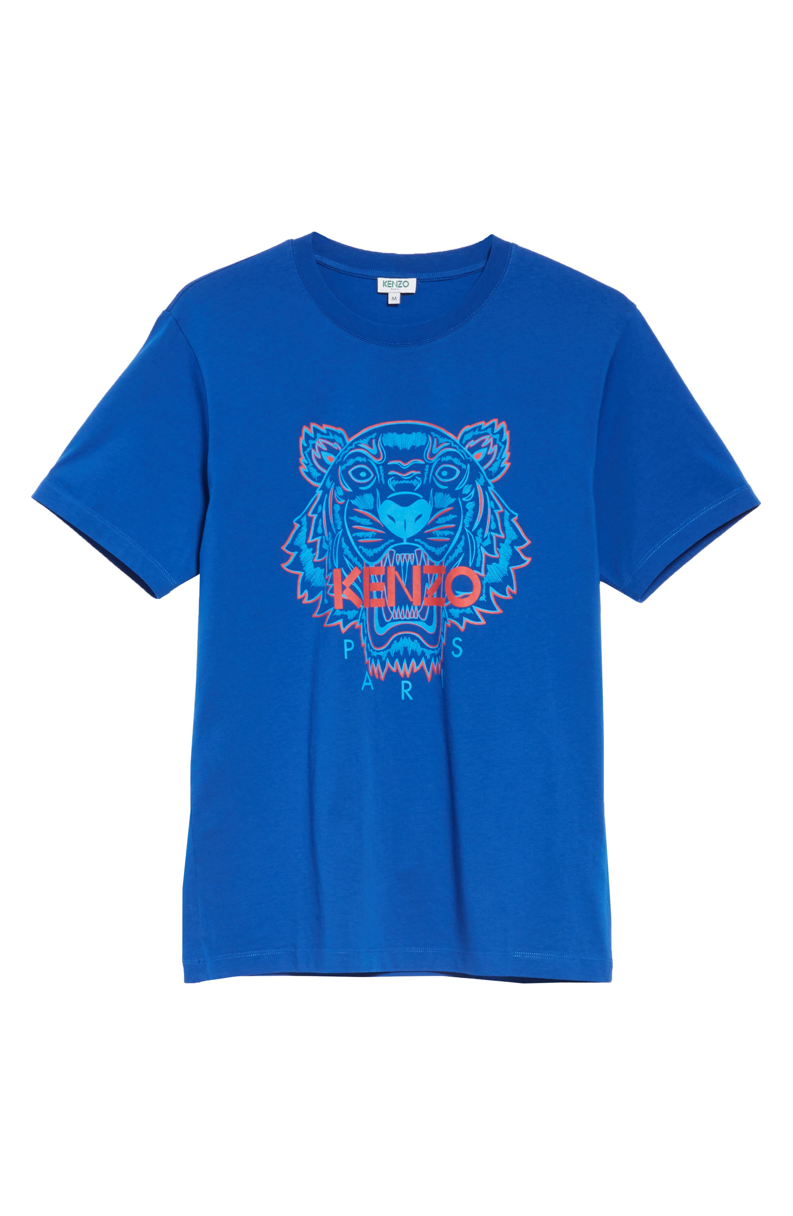 Tiger Graphic T-Shirt,                             Alternate thumbnail 6, color,                             FRENCH BLUE