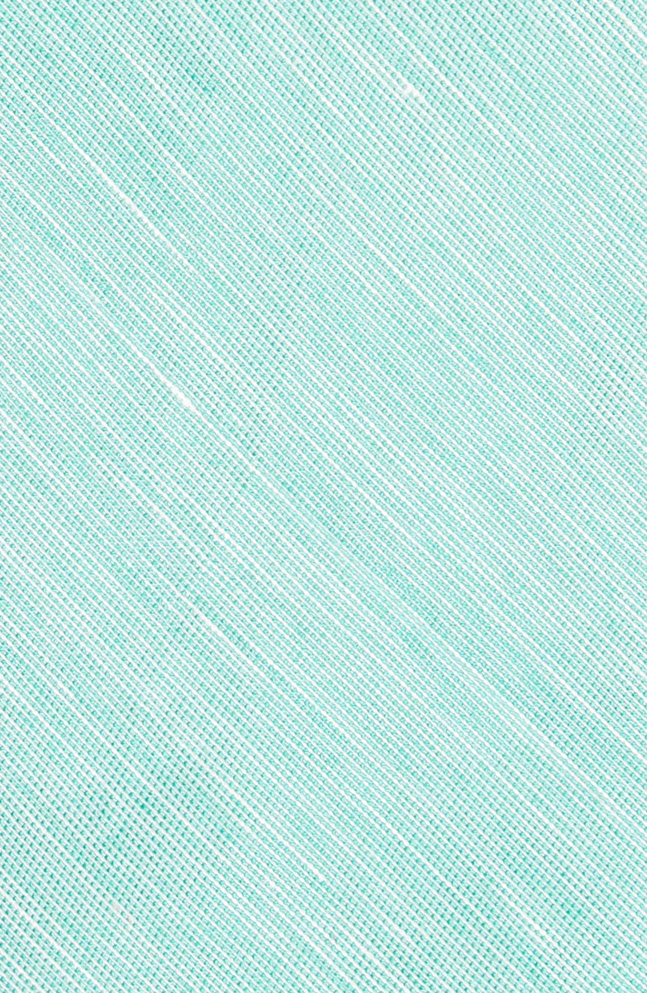 Adena Solid Silk Blend Skinny Tie,                             Alternate thumbnail 8, color,