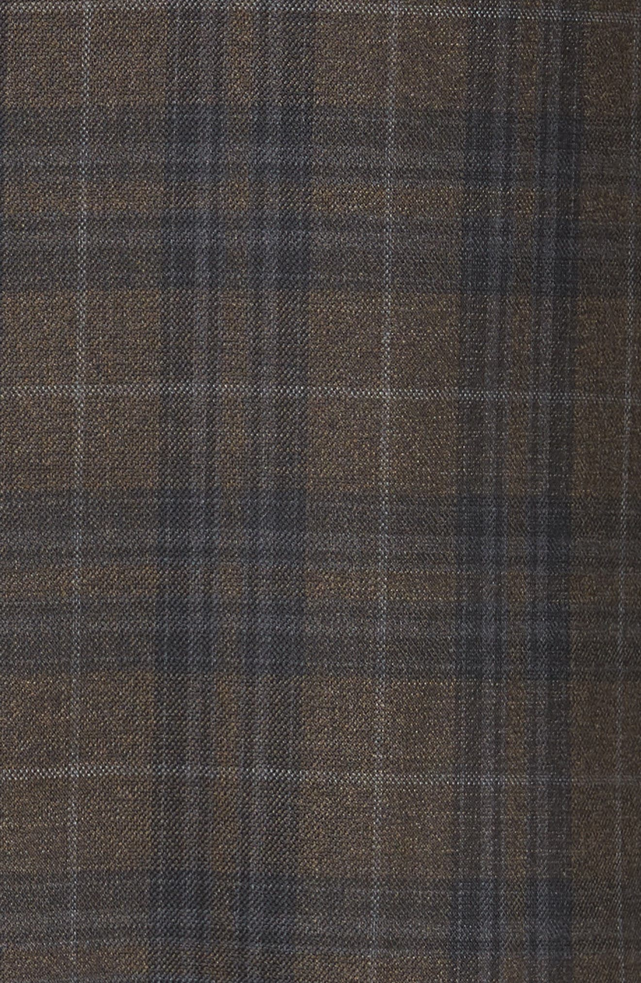 Classic Fit Plaid Wool Sport Coat,                             Alternate thumbnail 6, color,                             200