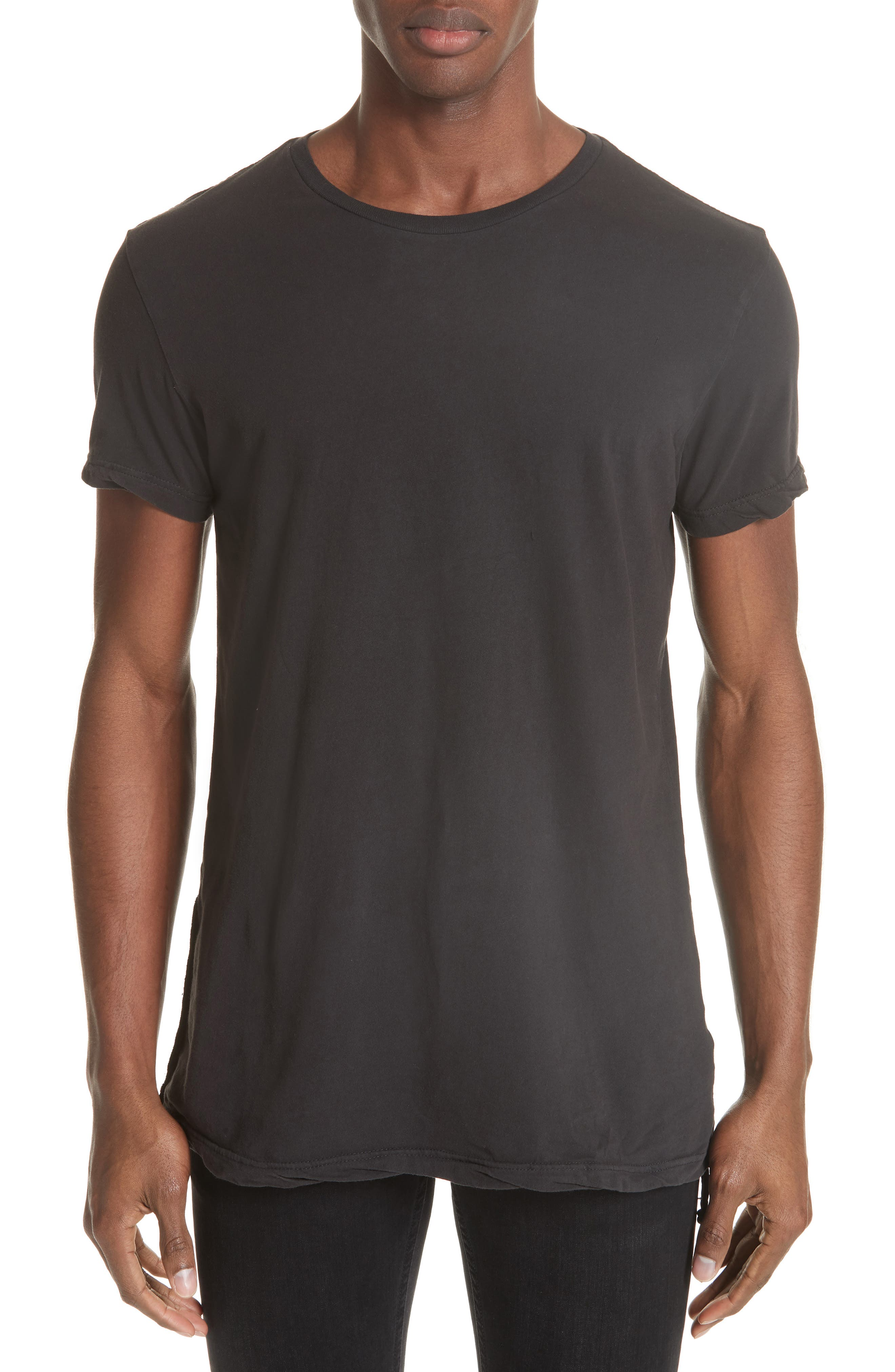 Seeing Lines T-Shirt,                         Main,                         color, BLACK