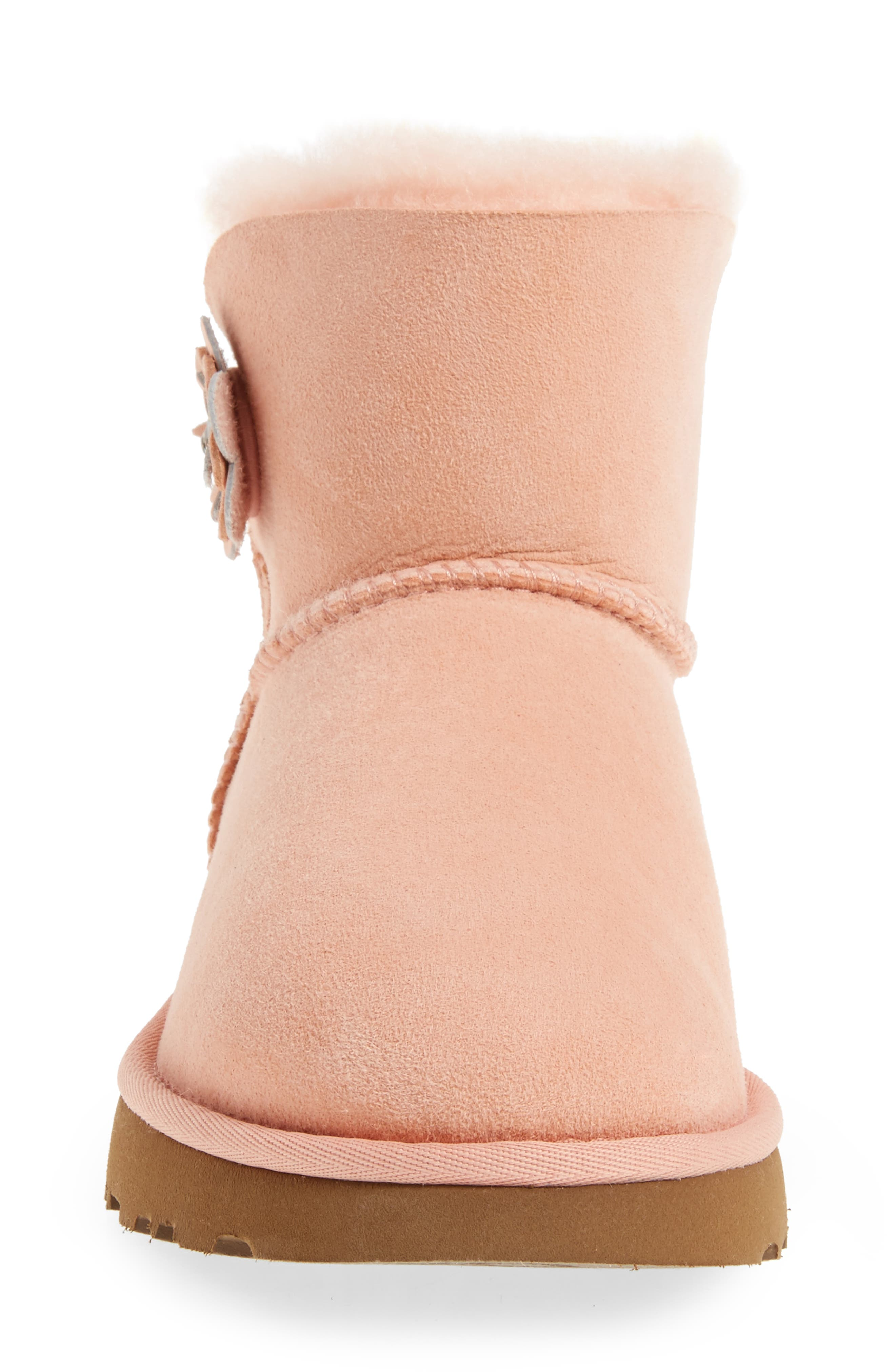 Bailey Petal Genuine Shearling Lined Mini Boot,                             Alternate thumbnail 12, color,