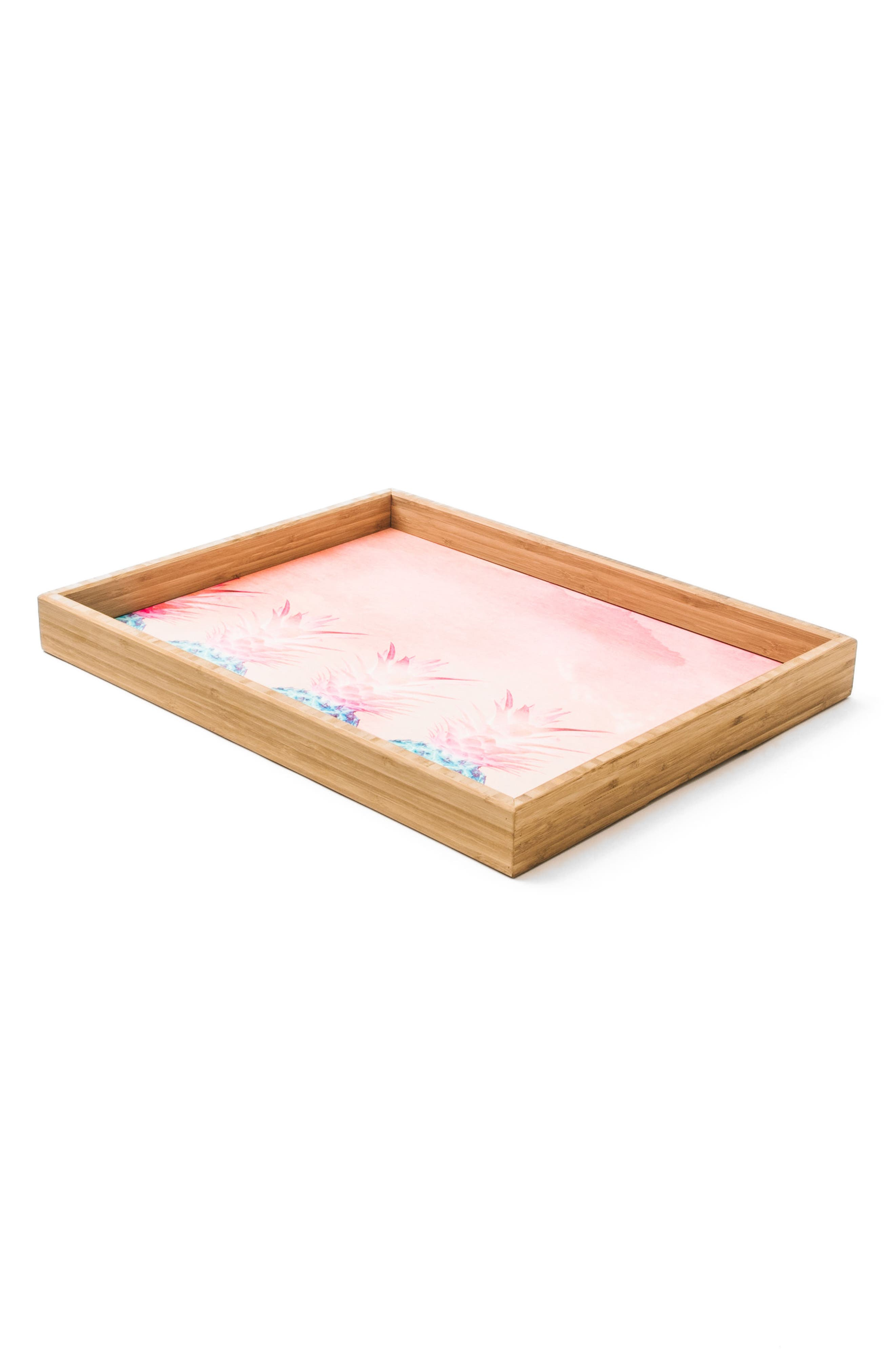 Pineapple Farm Serving Tray,                             Alternate thumbnail 5, color,