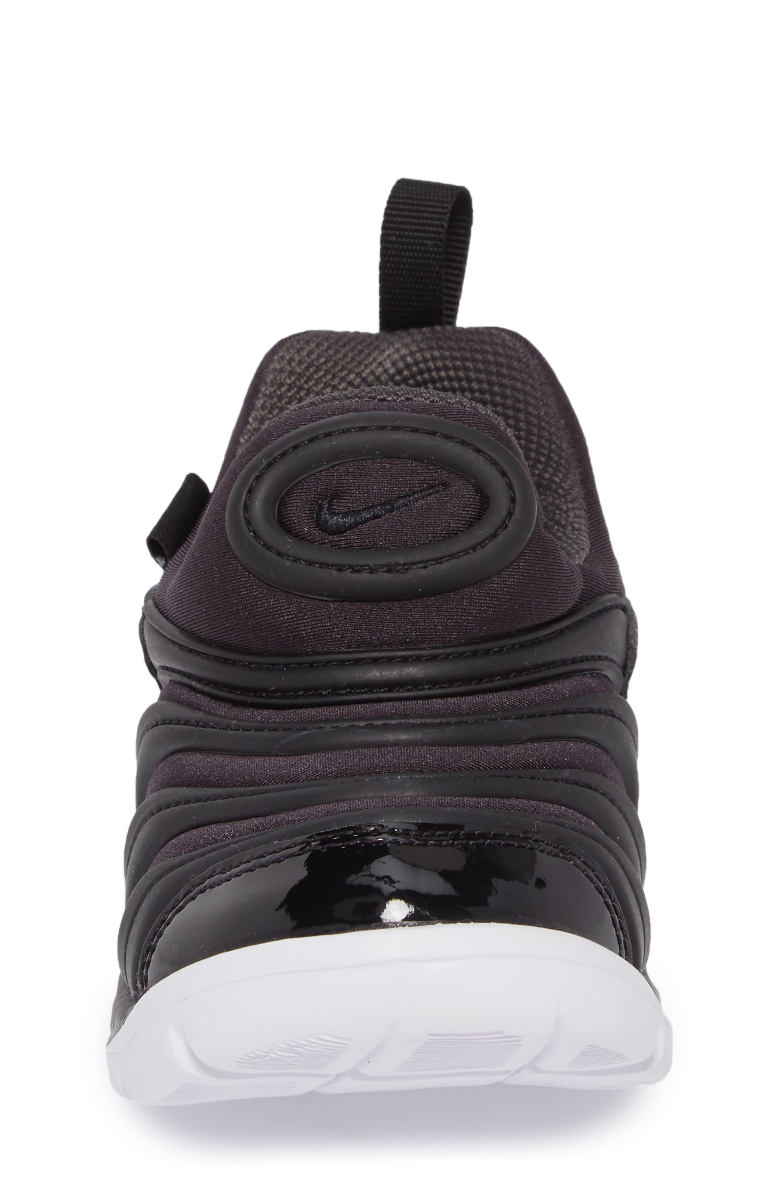 Dynamo Free Sneaker,                             Alternate thumbnail 4, color,                             ANTHRACITE/ WHITE/ BLACK