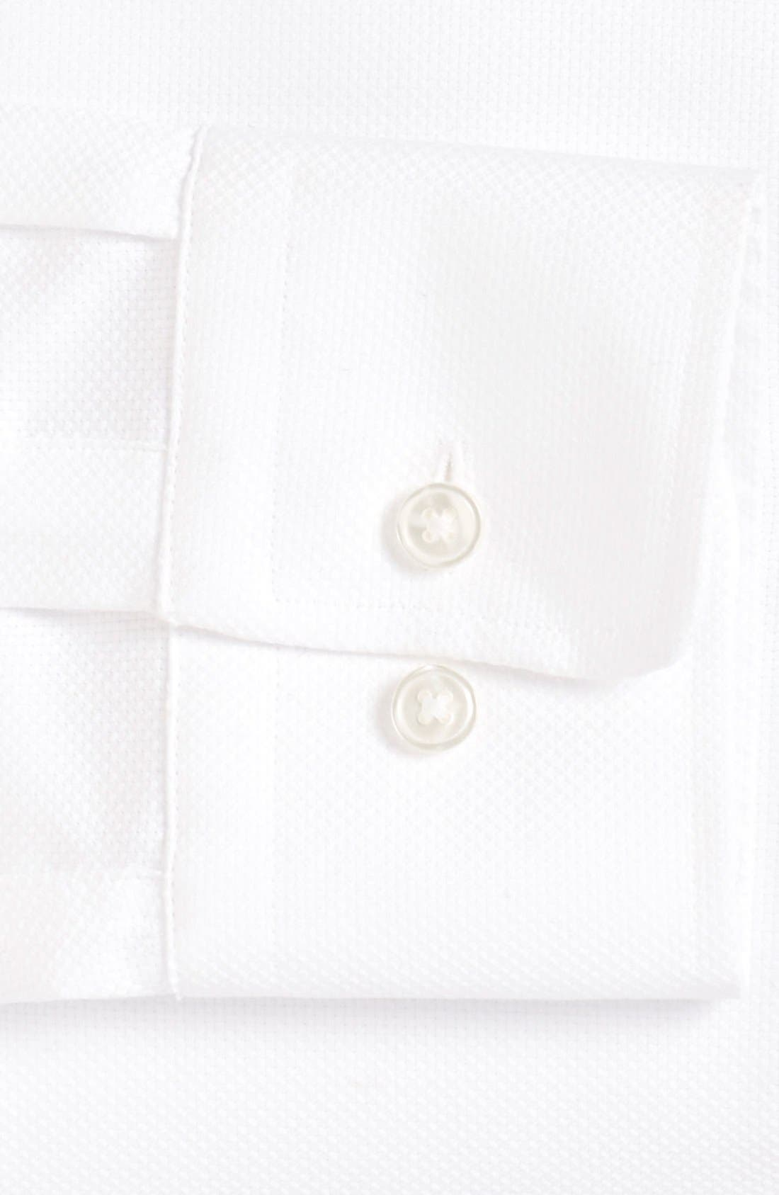 Sharp Fit Dress Shirt,                             Alternate thumbnail 4, color,                             100