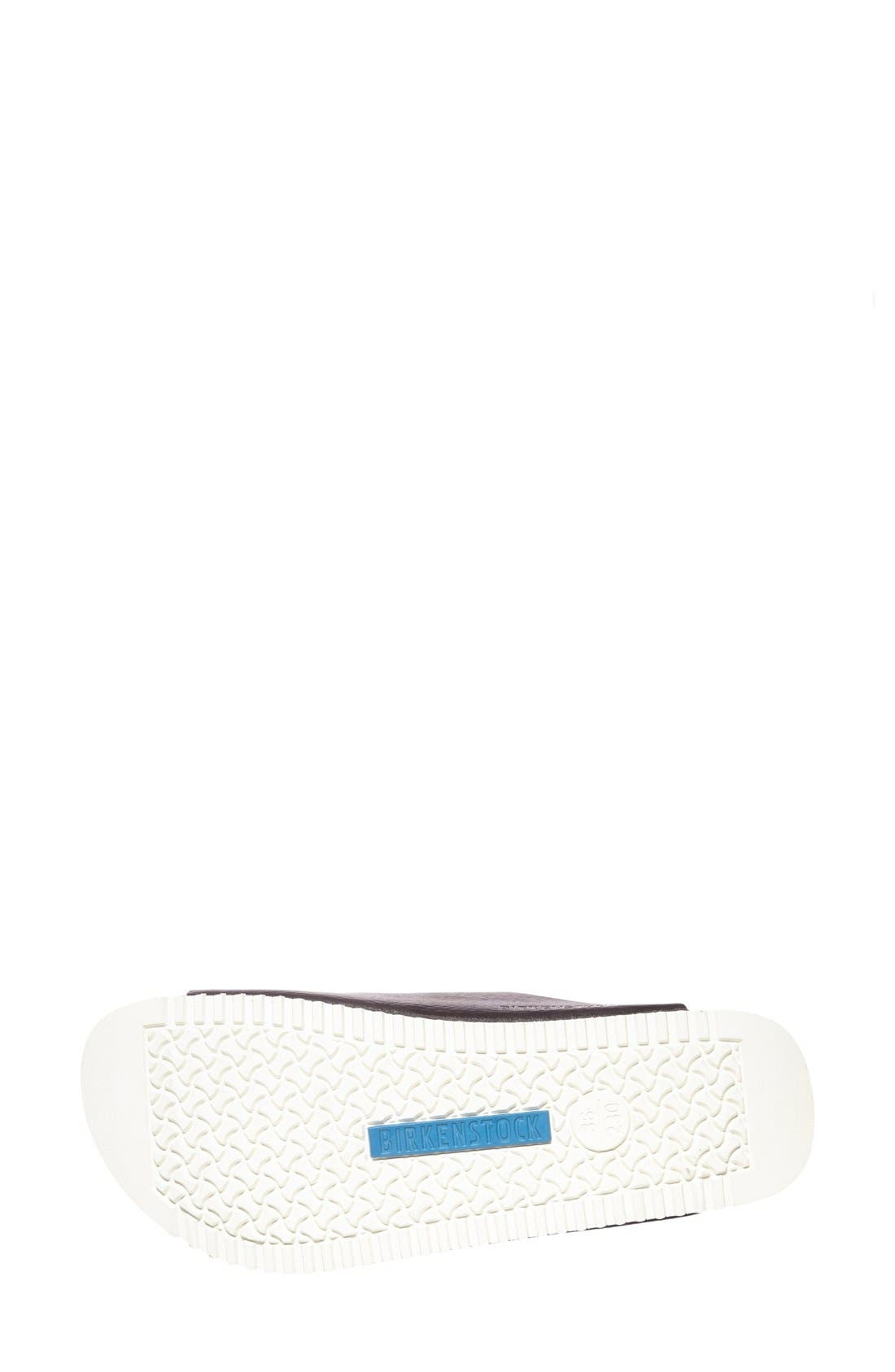 BIRKENSTOCK,                             'Arizona' Leather Double Band Footbed Sandal,                             Alternate thumbnail 2, color,                             001