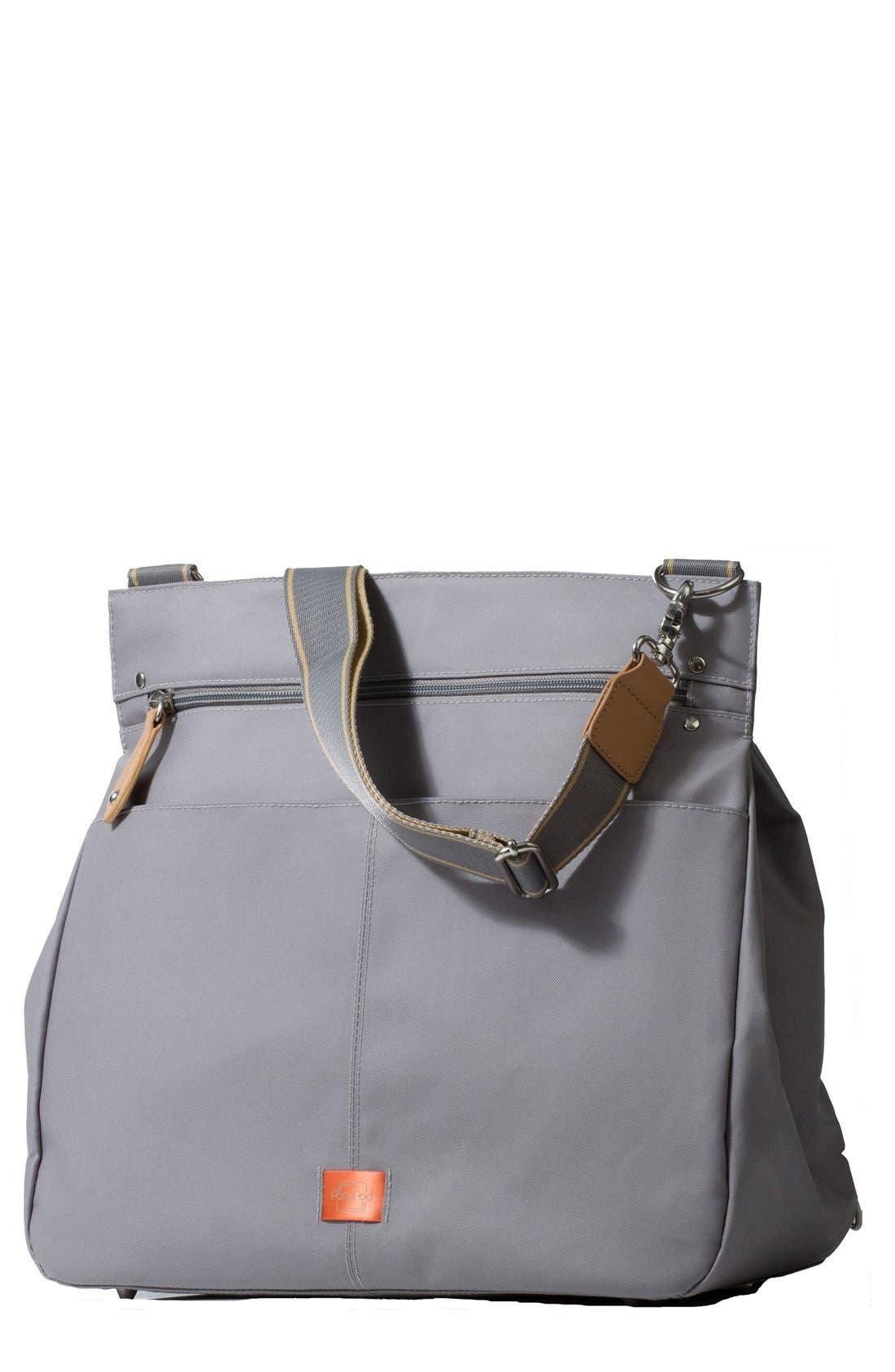 'Oban' Diaper Bag,                         Main,                         color, ELEPHANT