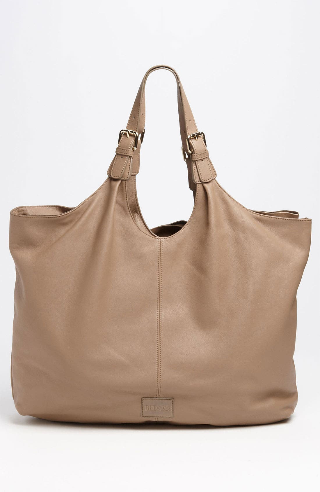 'Bow' Leather Hobo,                             Alternate thumbnail 5, color,