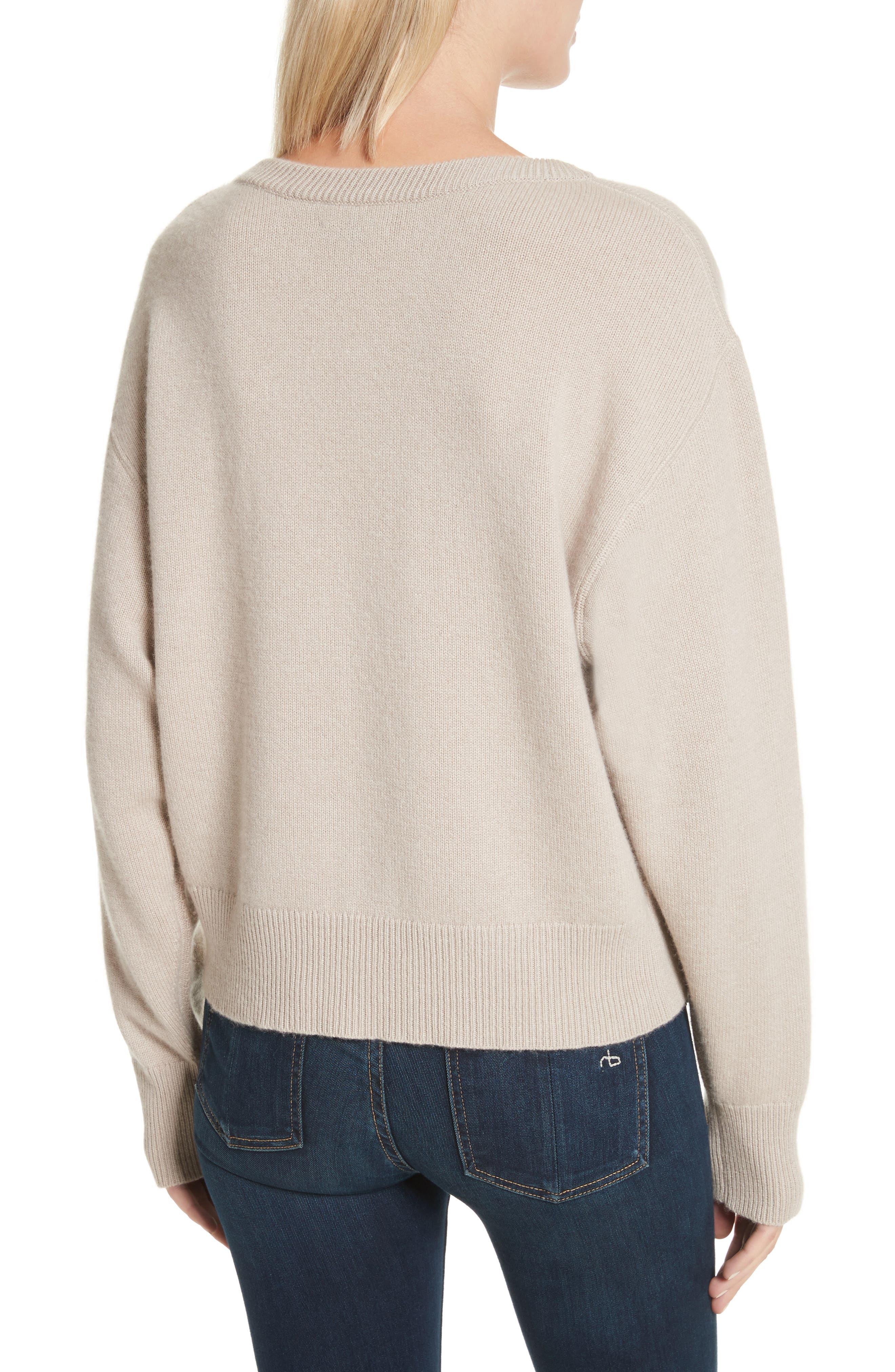 Sutton Cashmere Sweater,                             Alternate thumbnail 2, color,
