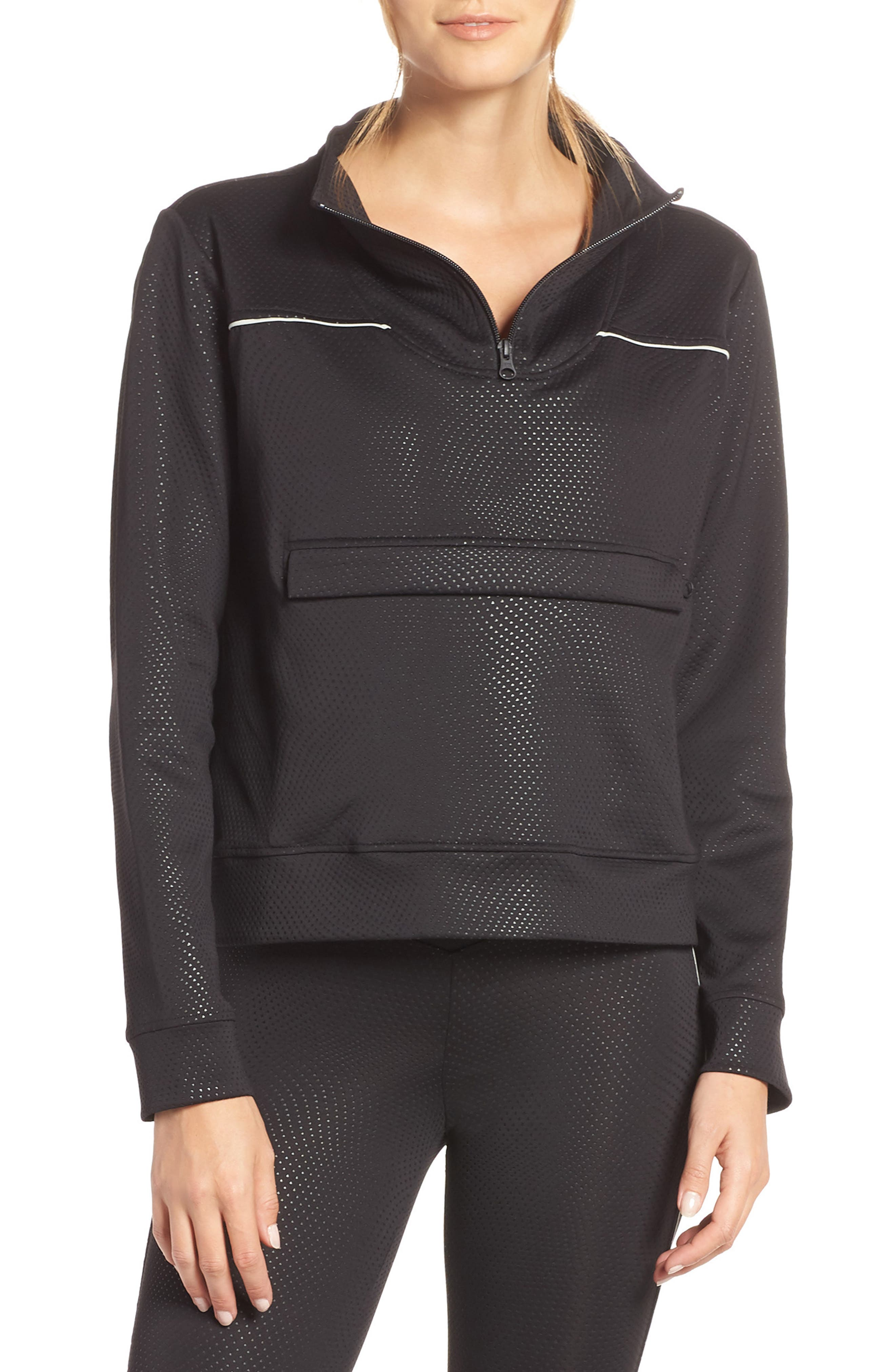 Kai Etch Half-Zip Sweatshirt,                             Main thumbnail 1, color,                             001
