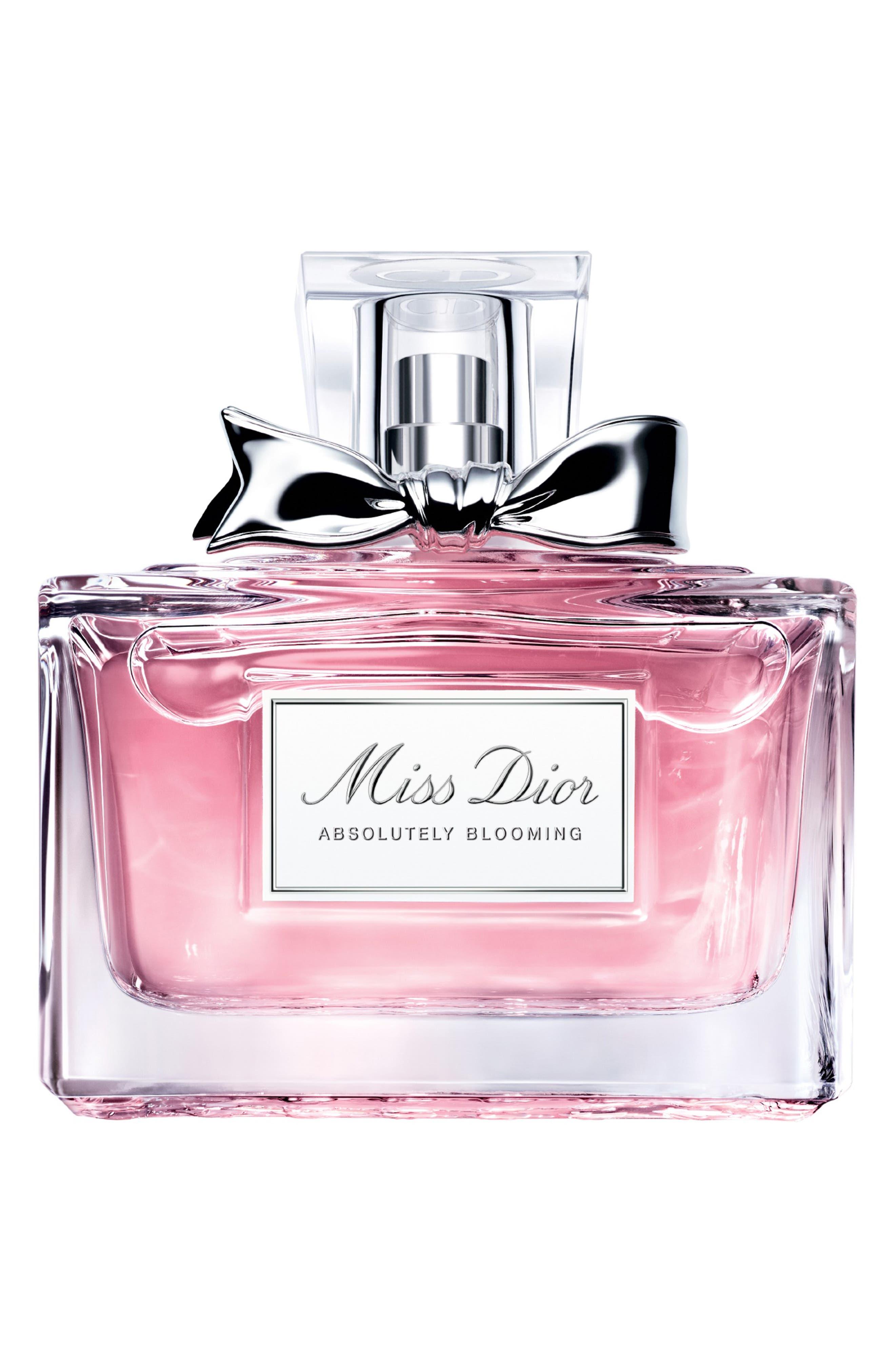 DIOR,                             'Miss Dior Absolutely Blooming' Eau de Parfum,                             Main thumbnail 1, color,                             NO COLOR