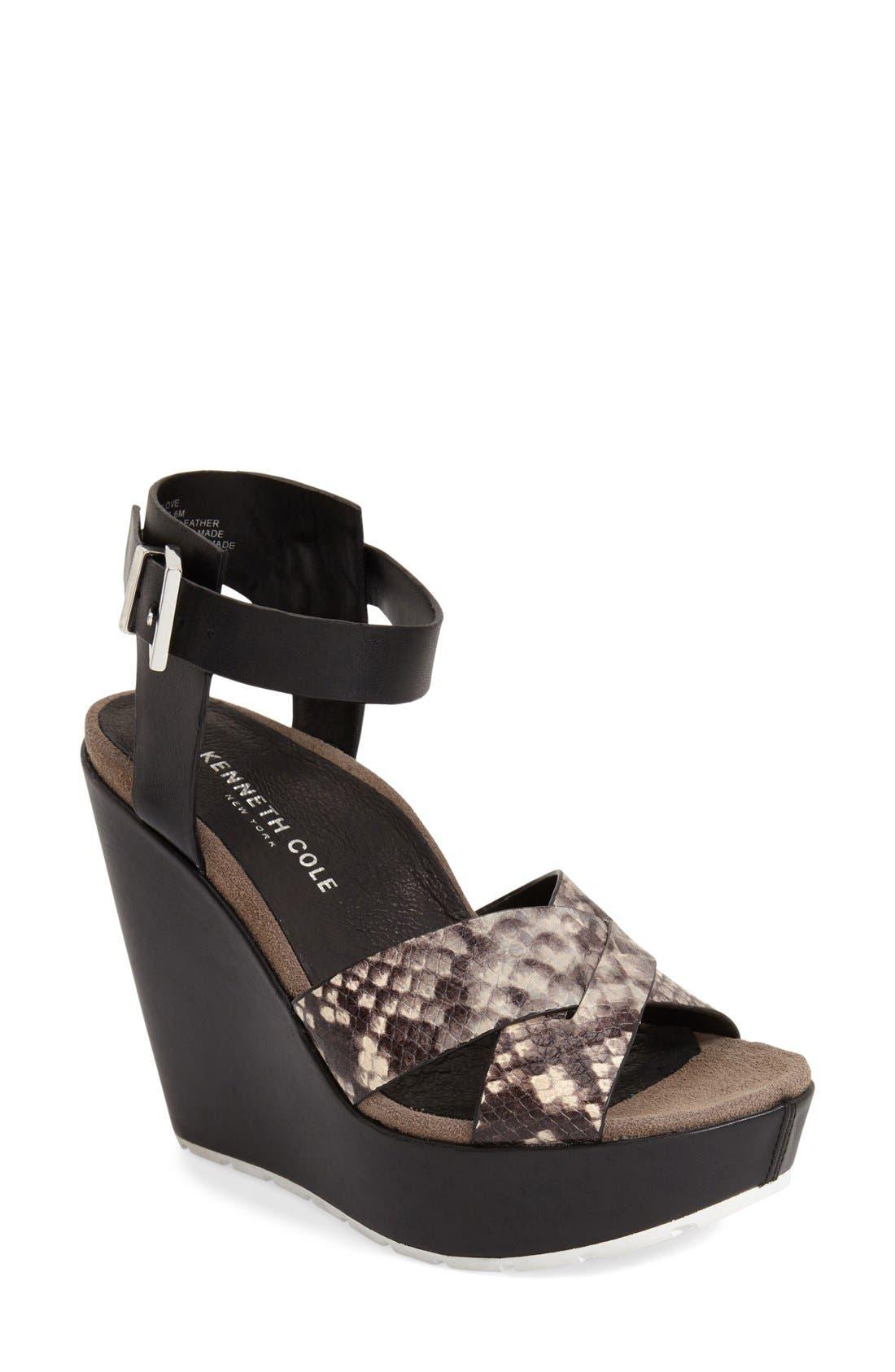 'Clove' Sandal,                         Main,                         color, 001