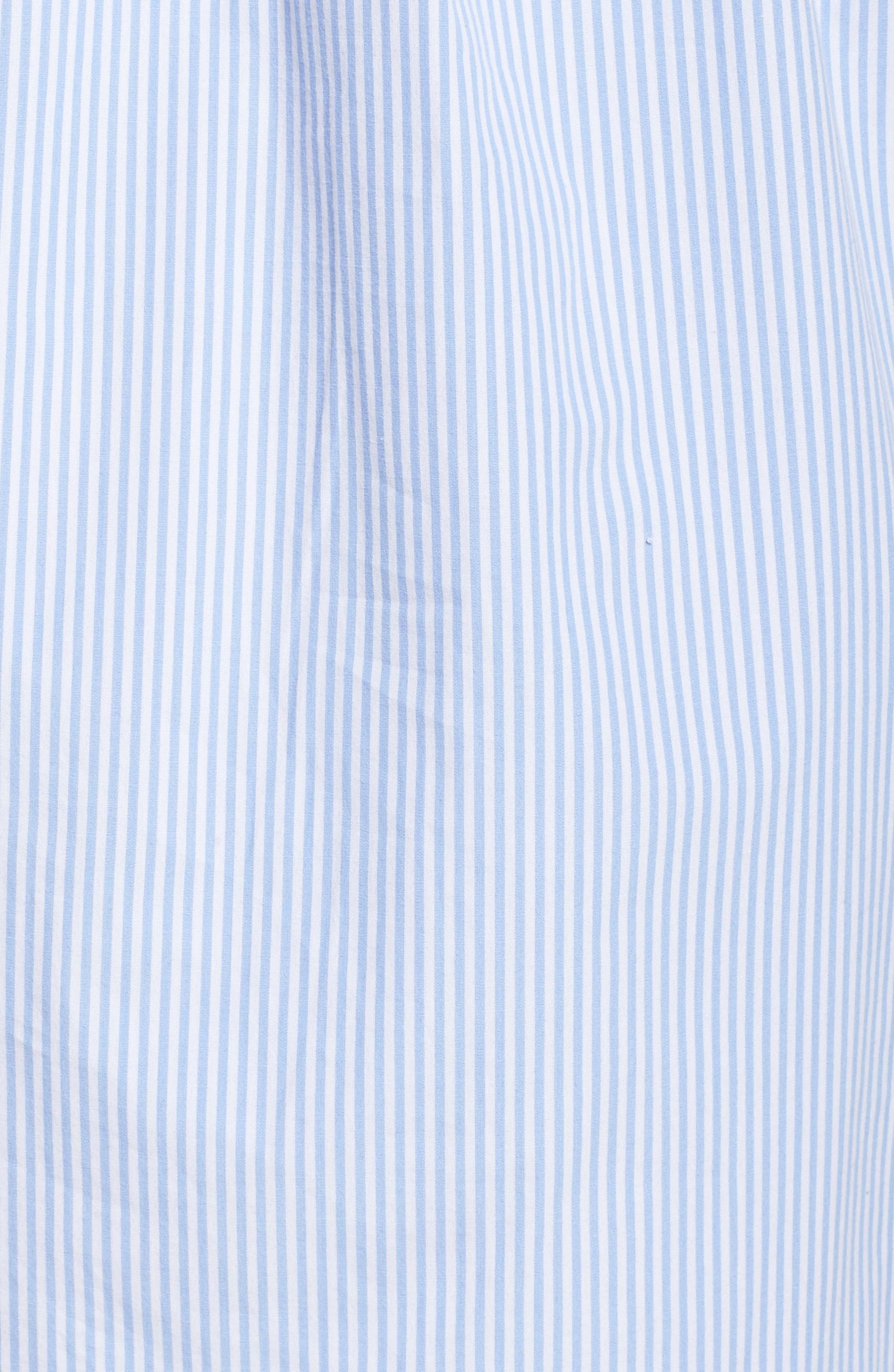 Cotton Poplin Sleep Shirt,                             Alternate thumbnail 6, color,                             452