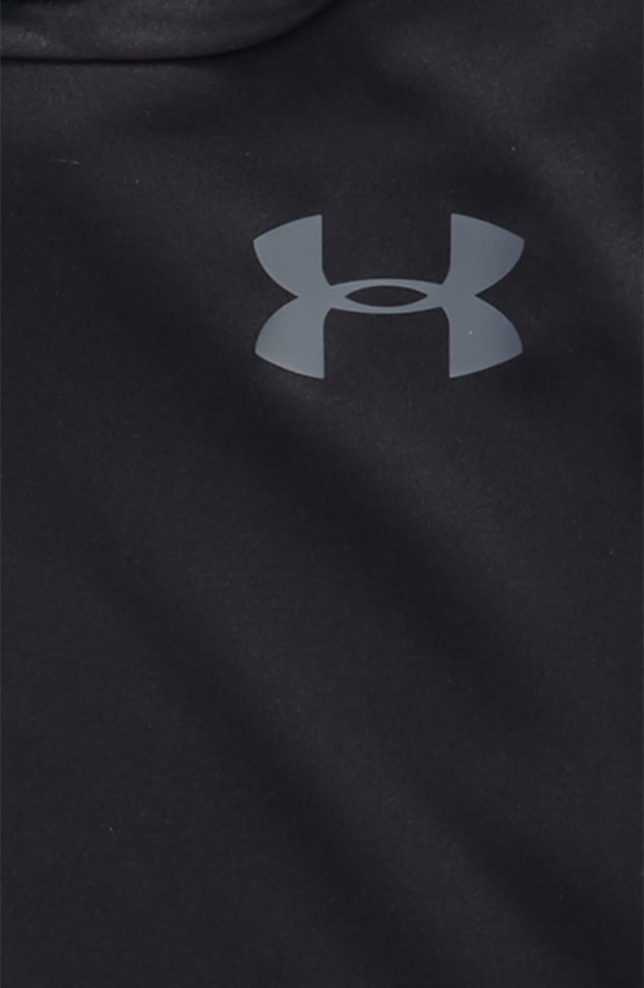 Baseline HeatGear<sup>®</sup> Hooded T-Shirt,                             Alternate thumbnail 2, color,                             001