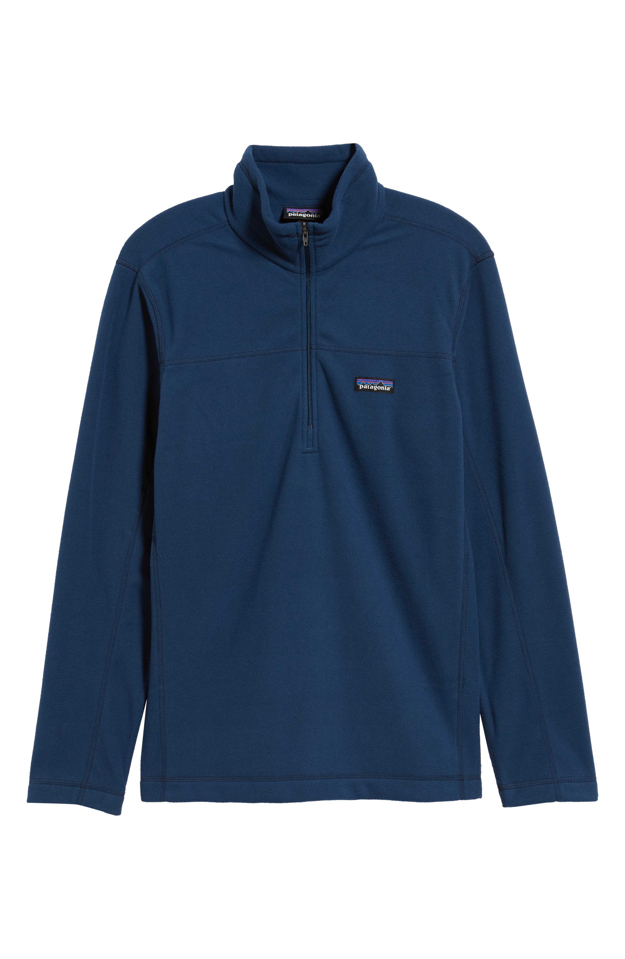 Fleece Pullover,                             Alternate thumbnail 6, color,                             STONE BLUE