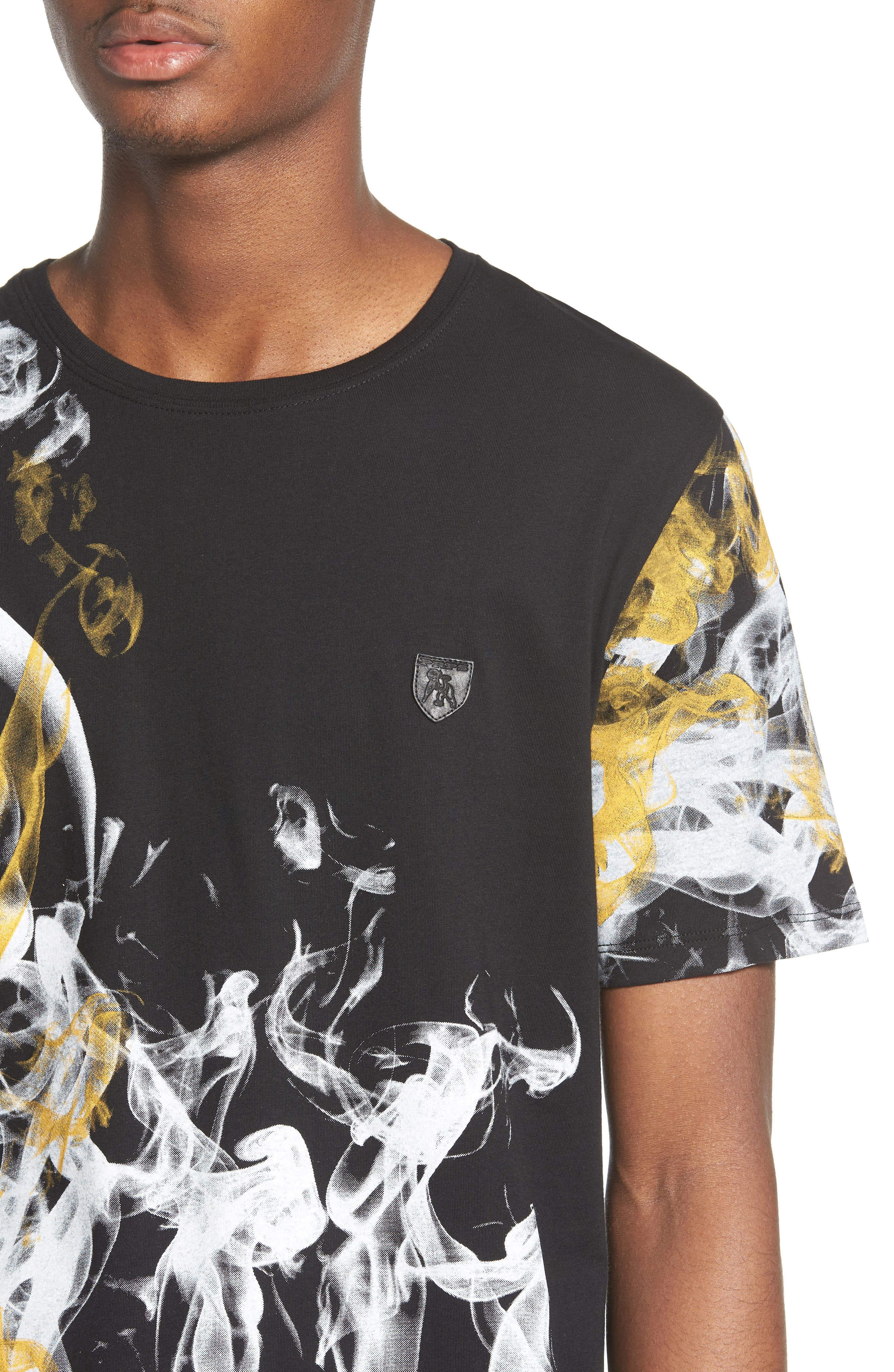 Graphic T-Shirt,                             Alternate thumbnail 4, color,                             BLACK