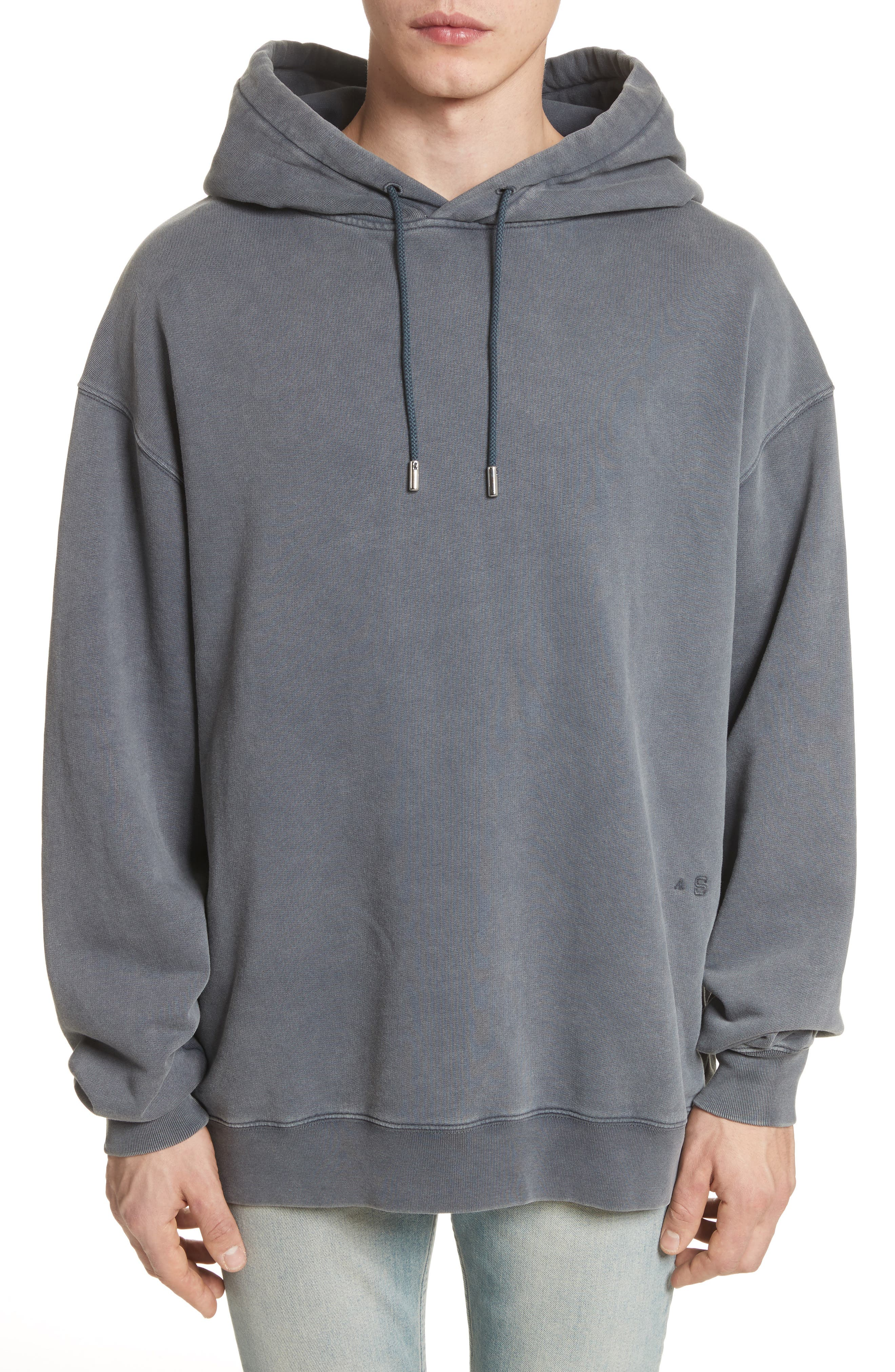 Fala Oversize Washed Hoodie,                         Main,                         color, 001