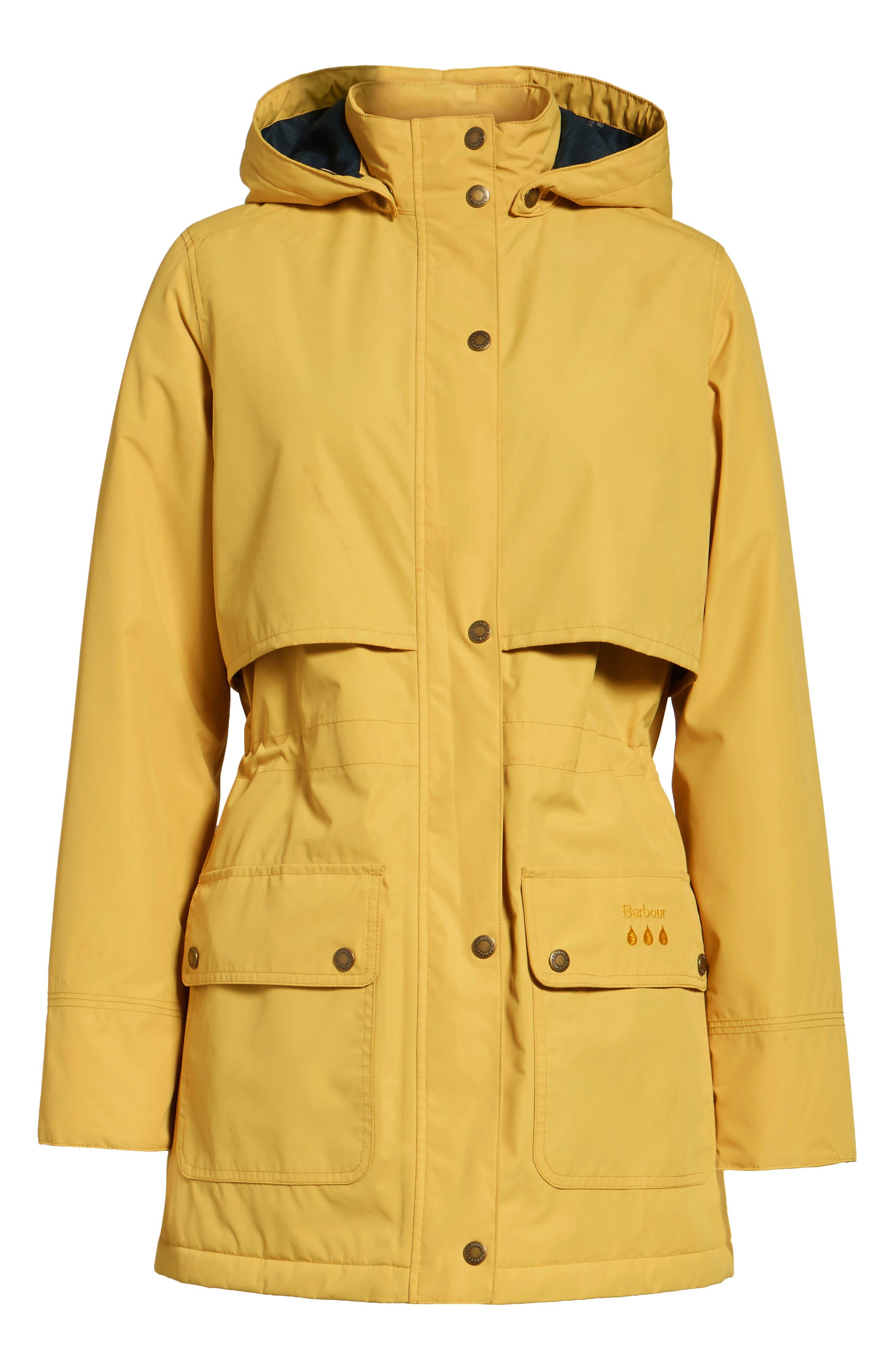 Stratus Hooded Waterproof Jacket,                             Alternate thumbnail 5, color,                             740