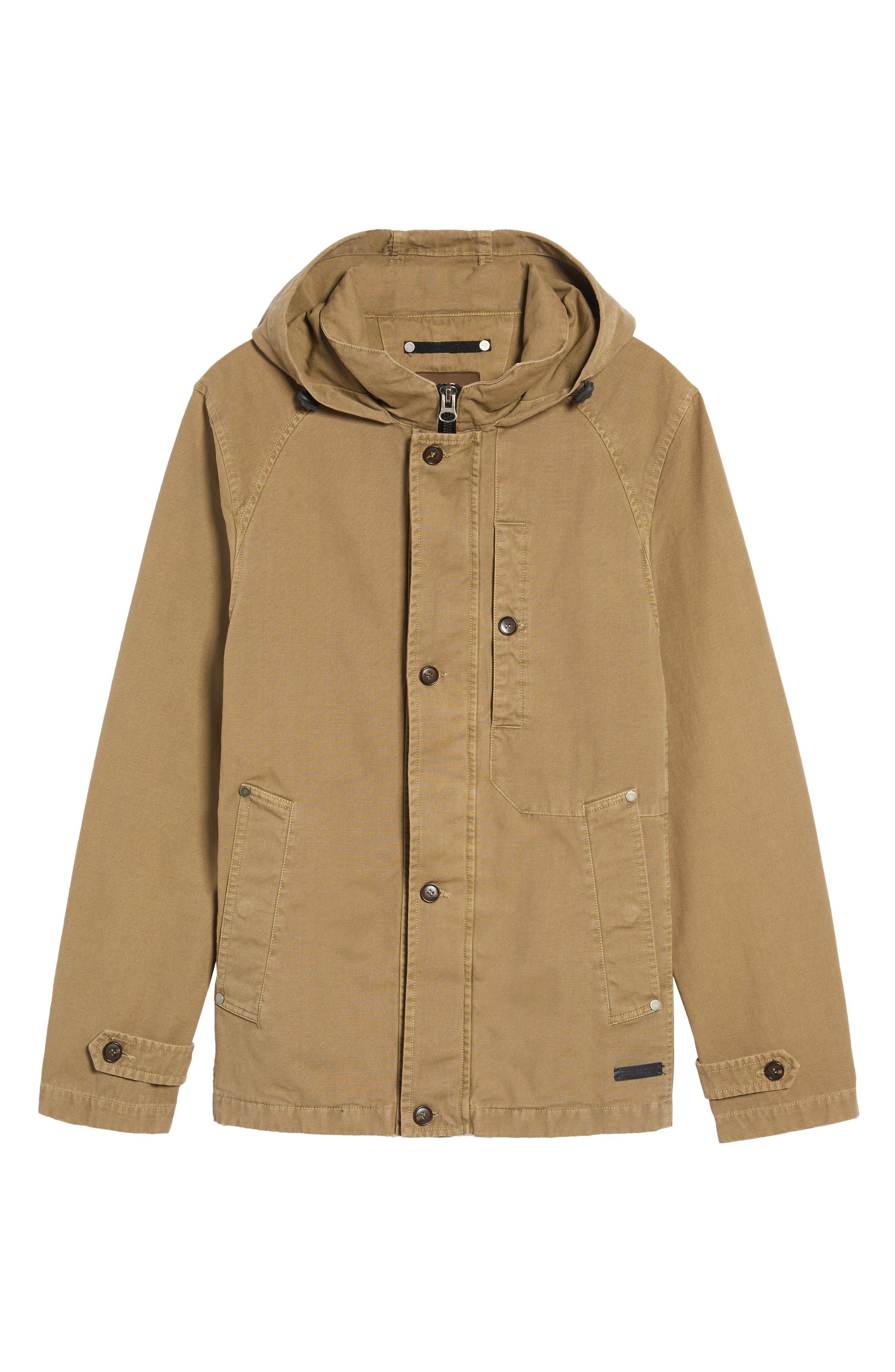 Herman Twill Hooded Jacket,                             Alternate thumbnail 5, color,                             250