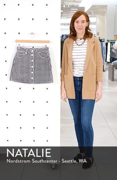 Bianca Denim Miniskirt, sales video thumbnail