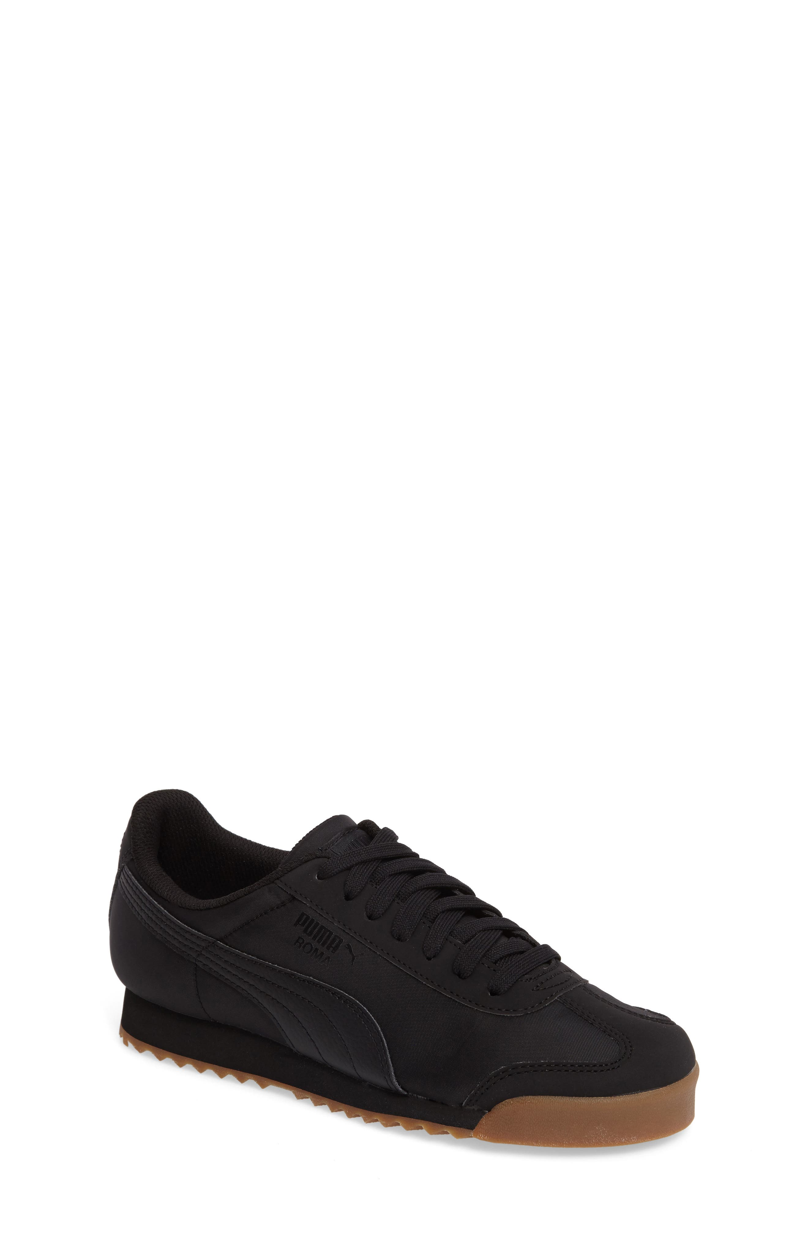 PUMA,                             Roma Basic Summer Sneaker,                             Main thumbnail 1, color,                             001