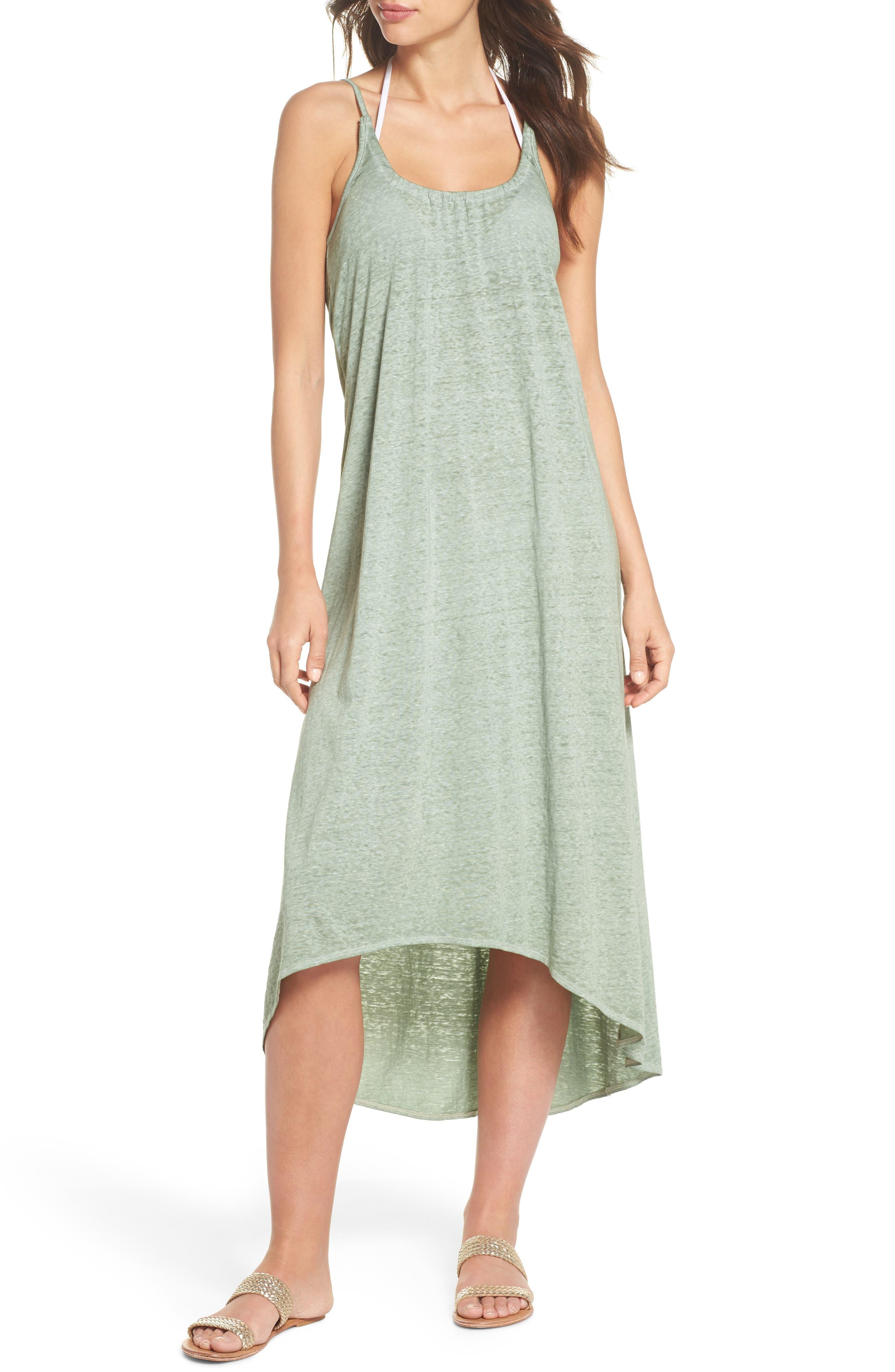 Maxi Cover-Up Dress,                             Main thumbnail 3, color,