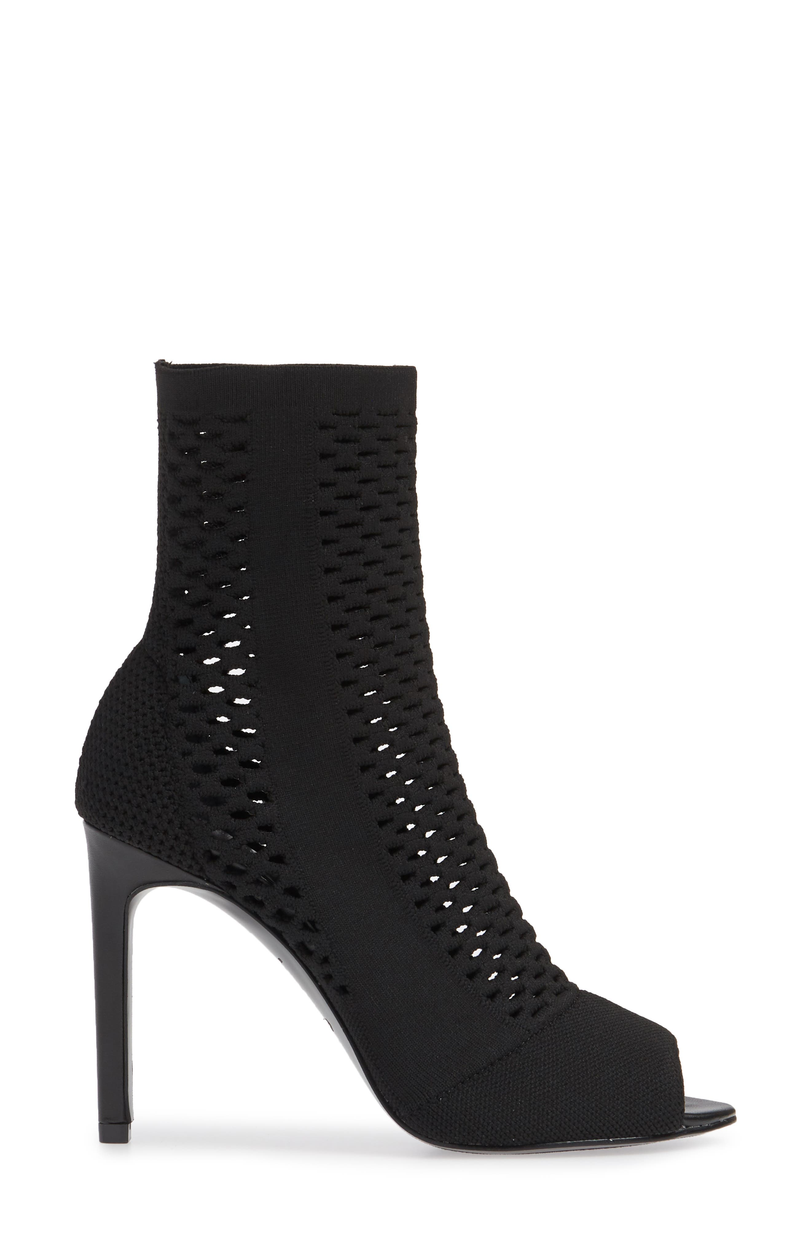 CHARLES BY CHARLES DAVID,                             Inspector Bootie,                             Alternate thumbnail 3, color,                             BLACK FABRIC