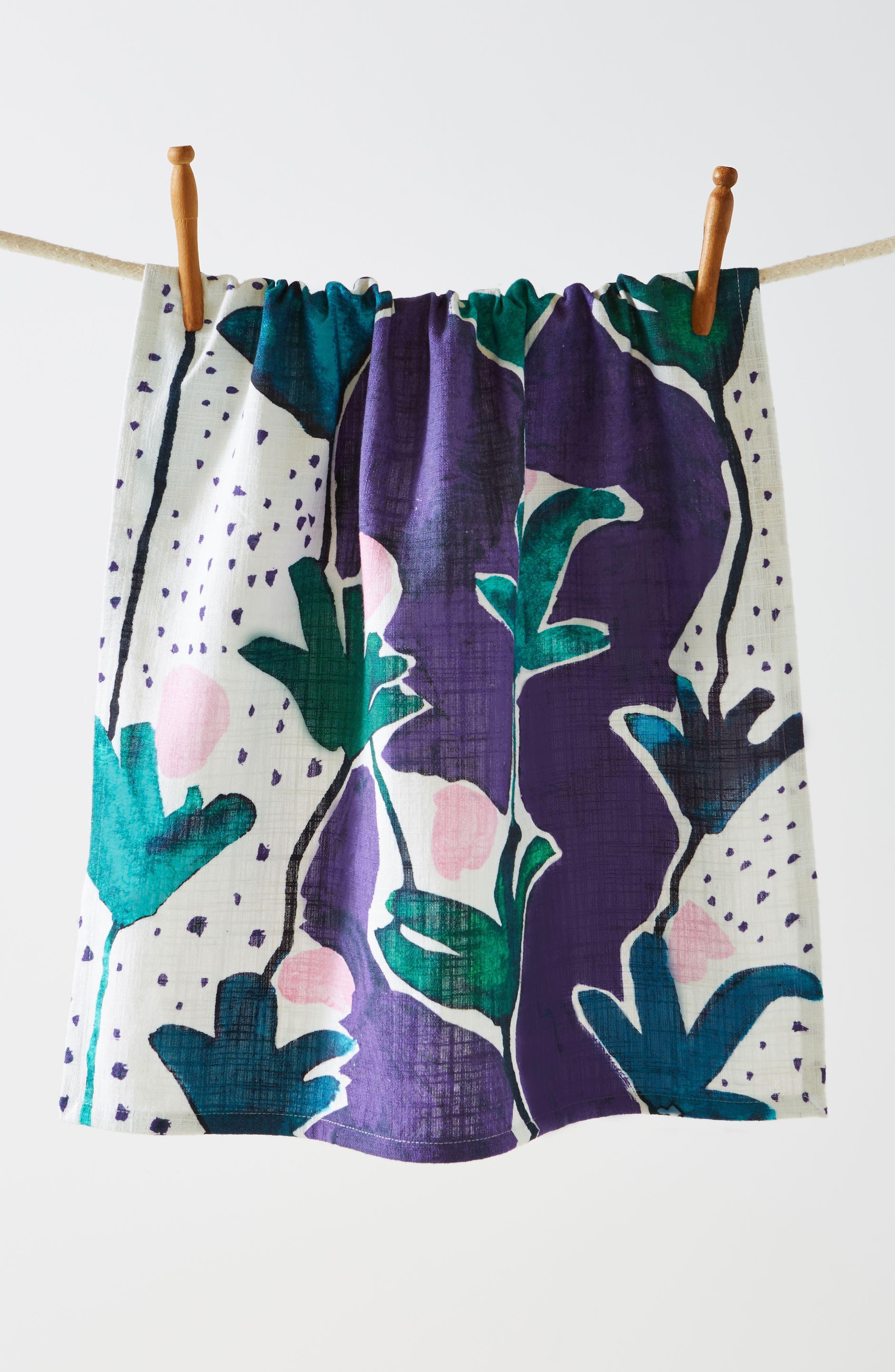 Cassie Byrnes Melbourne Dishtowel,                             Main thumbnail 1, color,                             400
