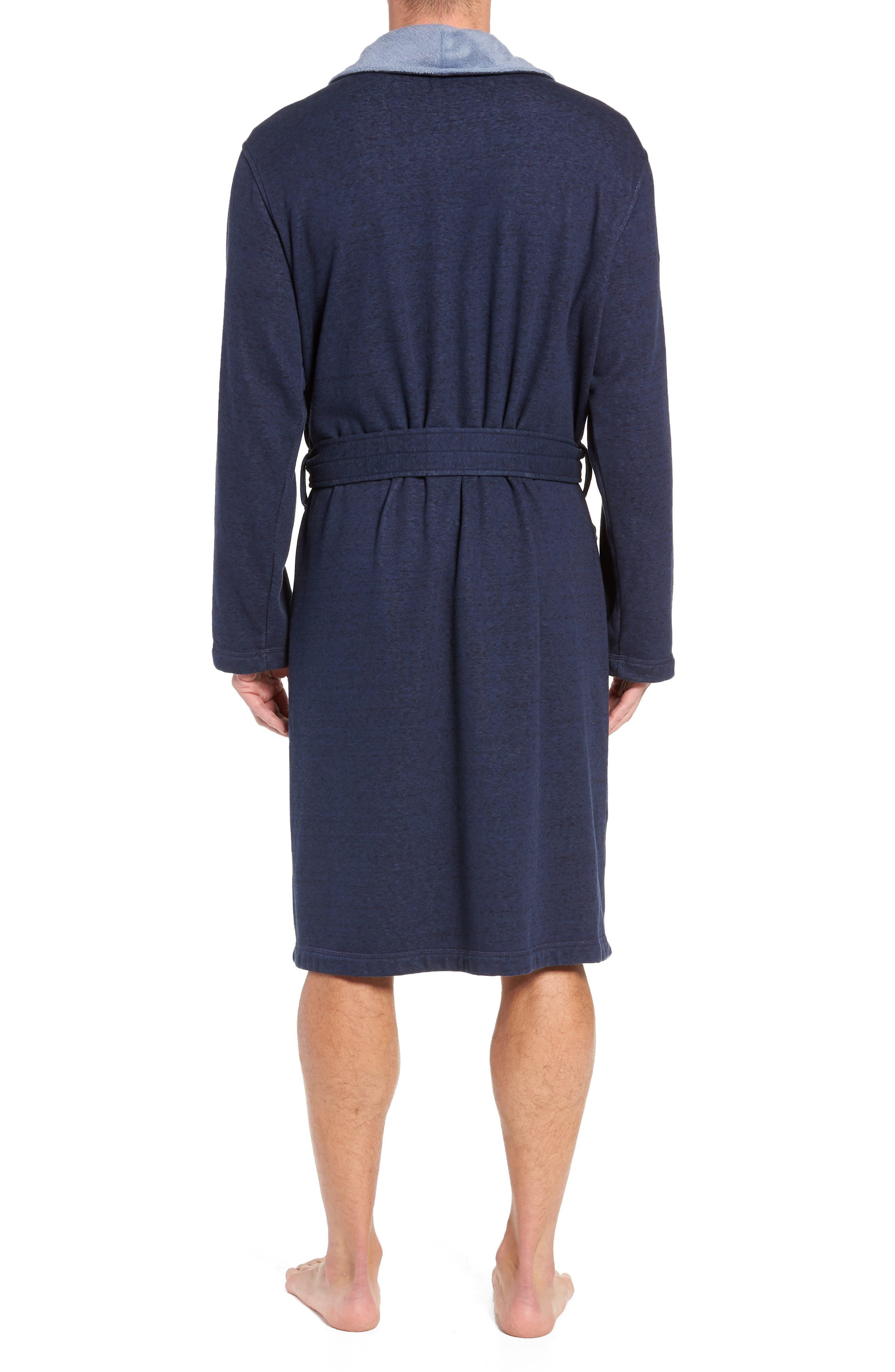 Robinson Robe,                             Alternate thumbnail 2, color,                             NAVY HEATHER