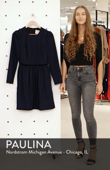 Callie Print Long Sleeve Dress, sales video thumbnail