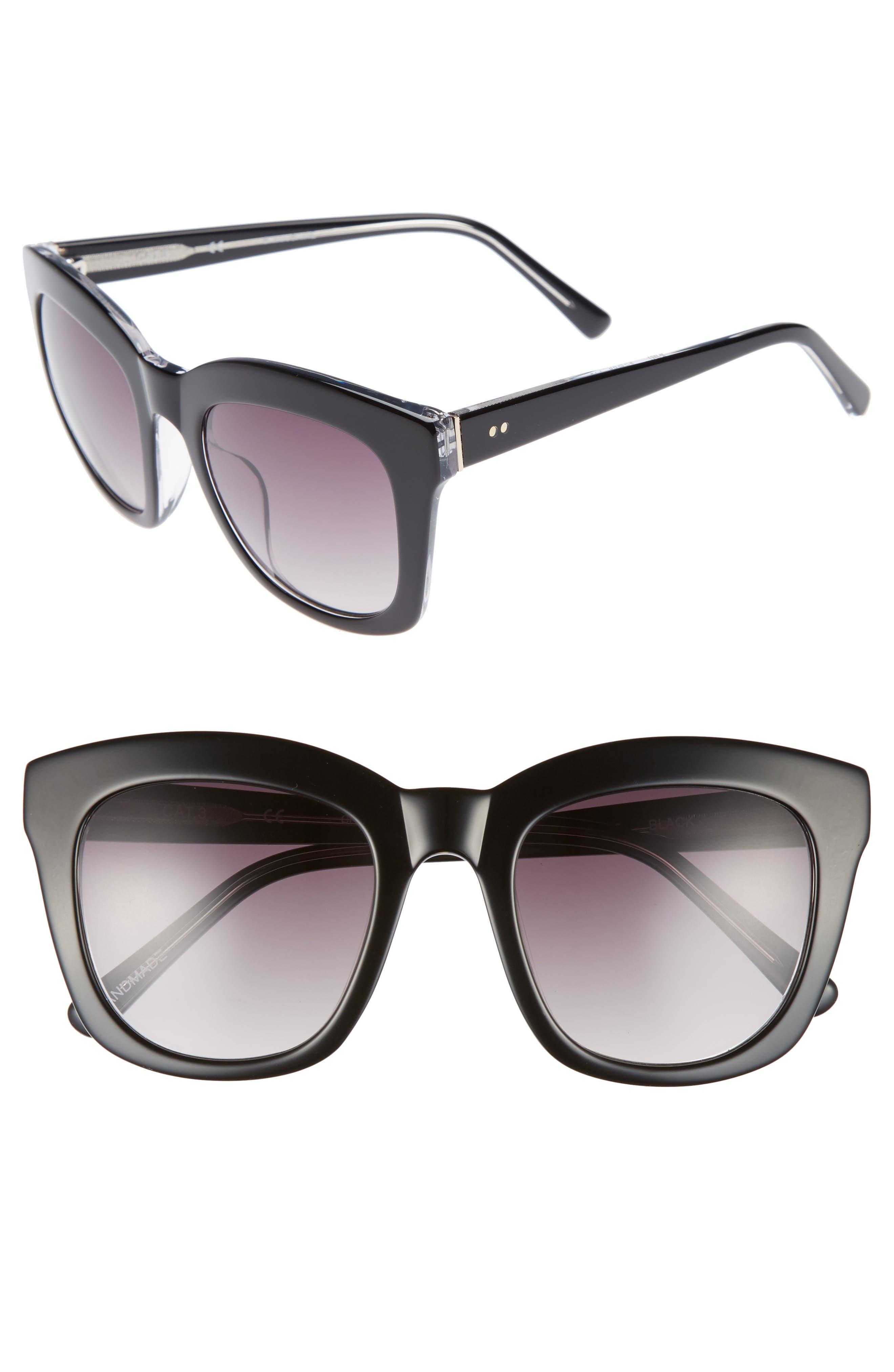 Kiri 52mm Sunglasses,                             Main thumbnail 1, color,                             040