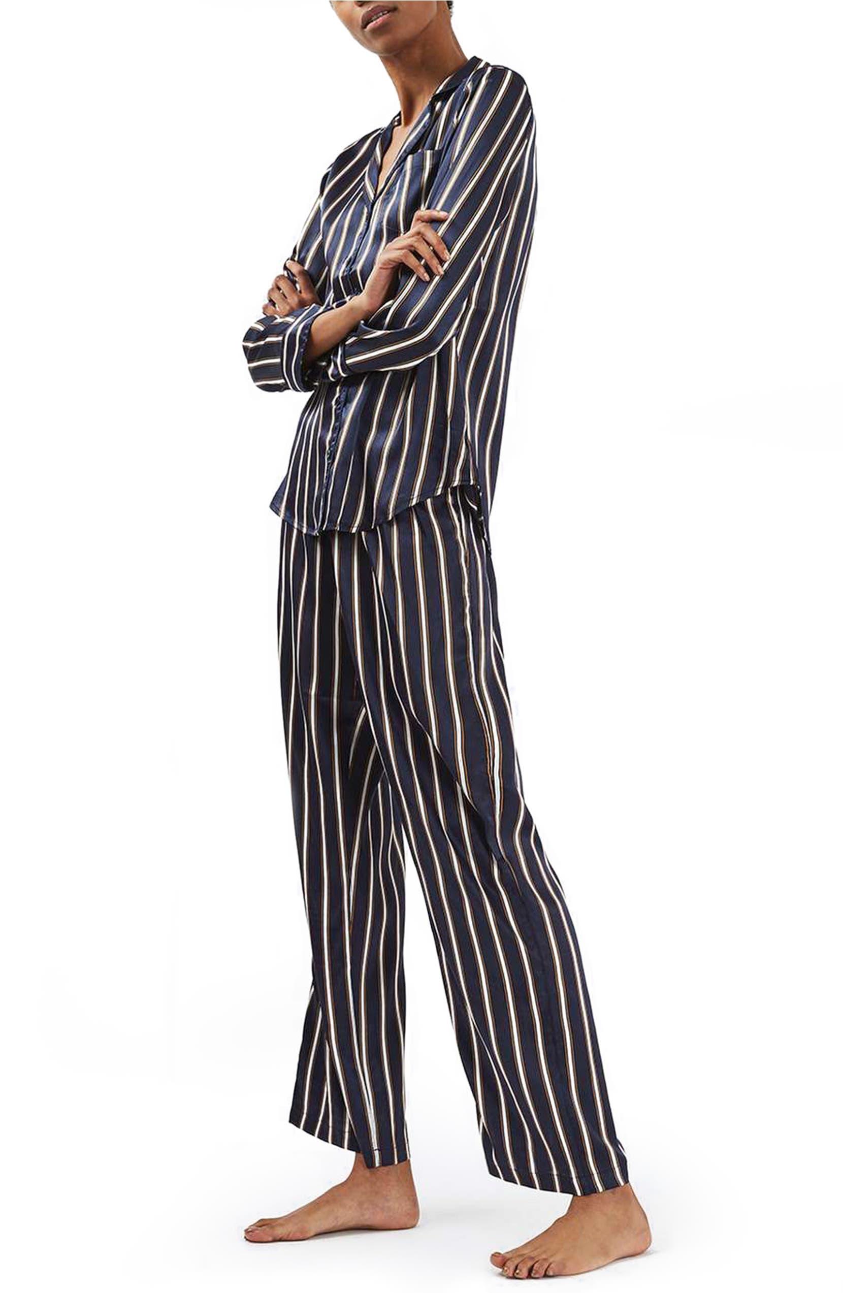 Topshop Satin Pajamas  ed7e0ee83