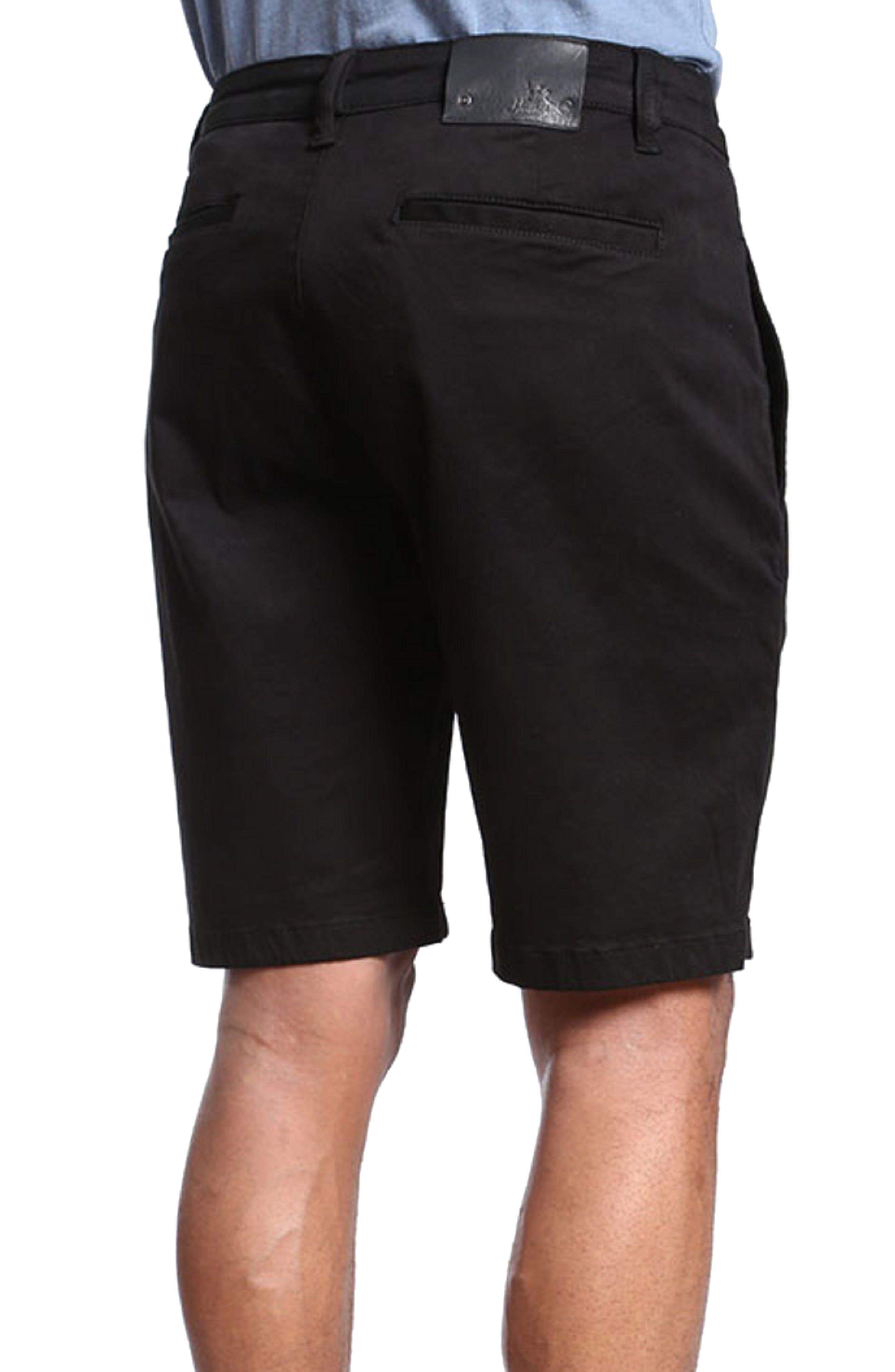 Nevada Twill Shorts,                             Alternate thumbnail 2, color,                             BLACK TWILL